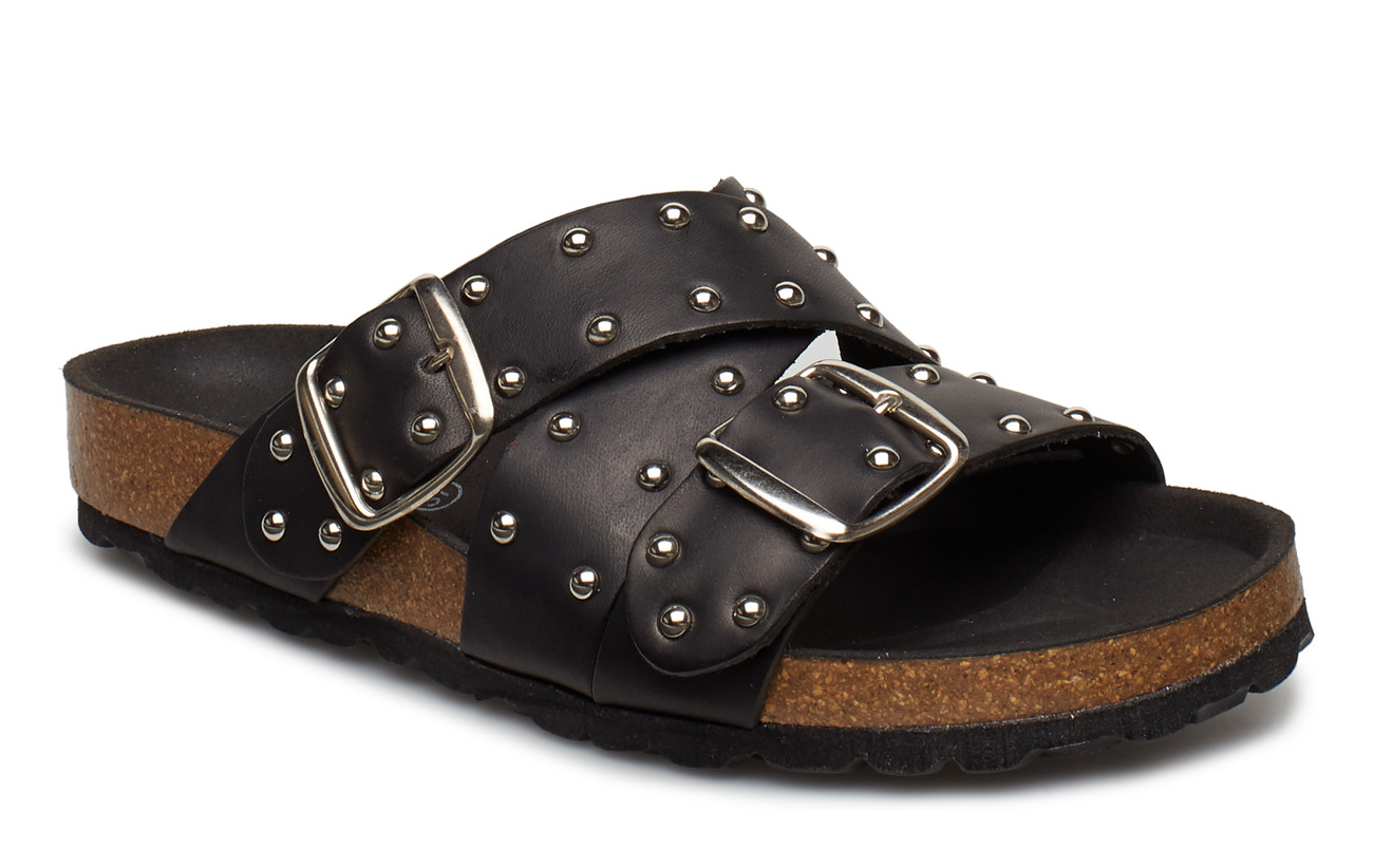 Shoe The Bear CARA CROSS STUDS - BLACK