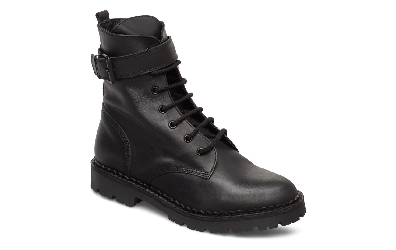 Shoe The Bear HAILEY LACE UP L - BLACK