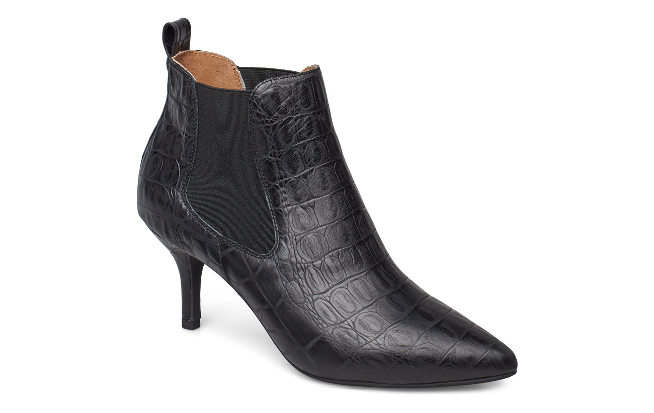 Shoe The Bear AGNETE CHELSEA CROCO - BLACK