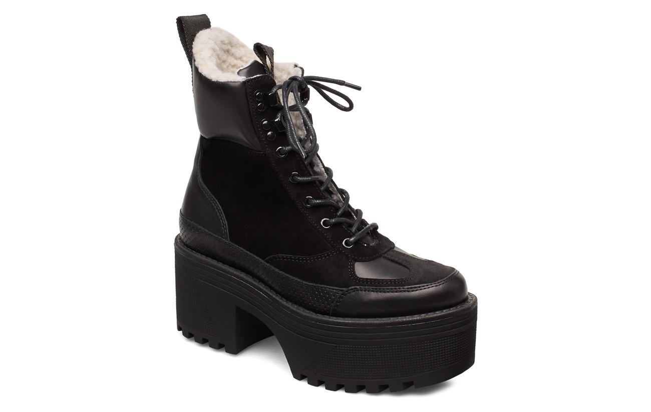 Shoe The Bear CELESTE HIKE WOOL - BLACK