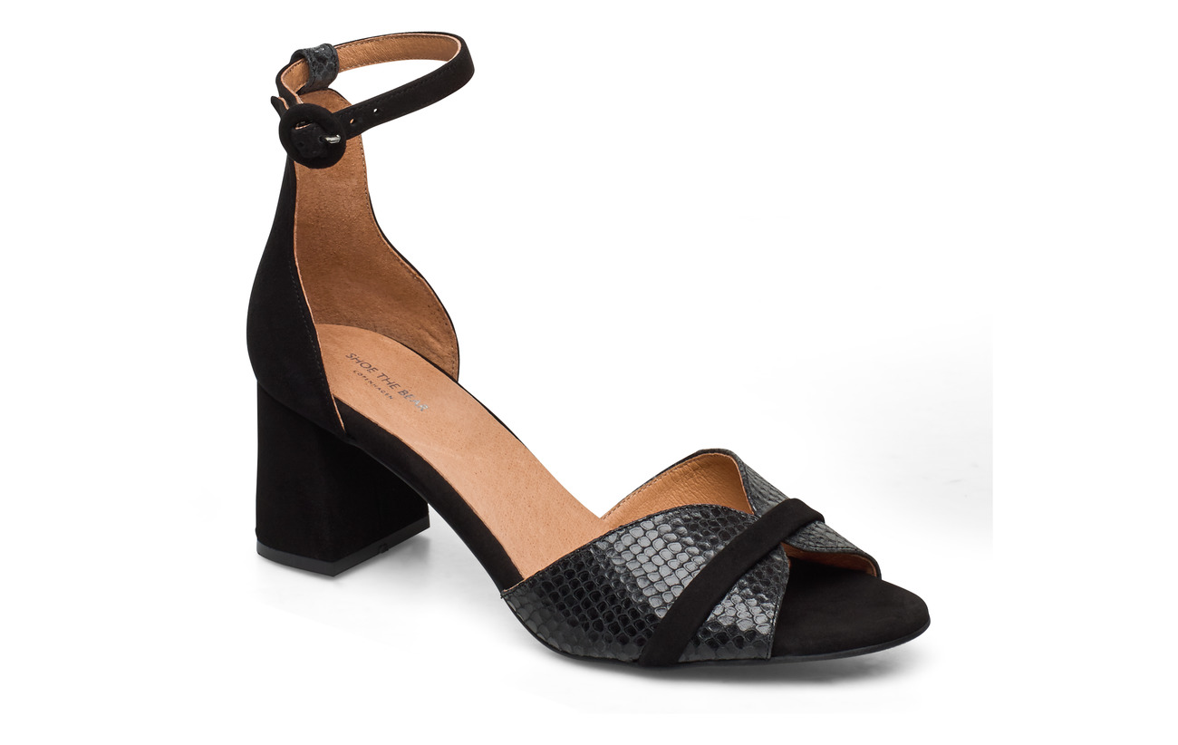 Shoe The Bear STB-MAY WAVE SNAKE - BLACK