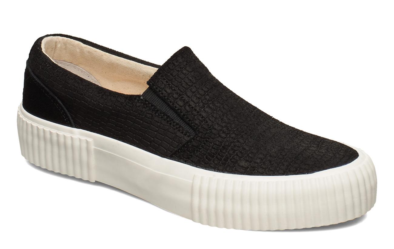 Shoe The Bear STB-ANDREA SLIP ON CROCO - BLACK CROCO