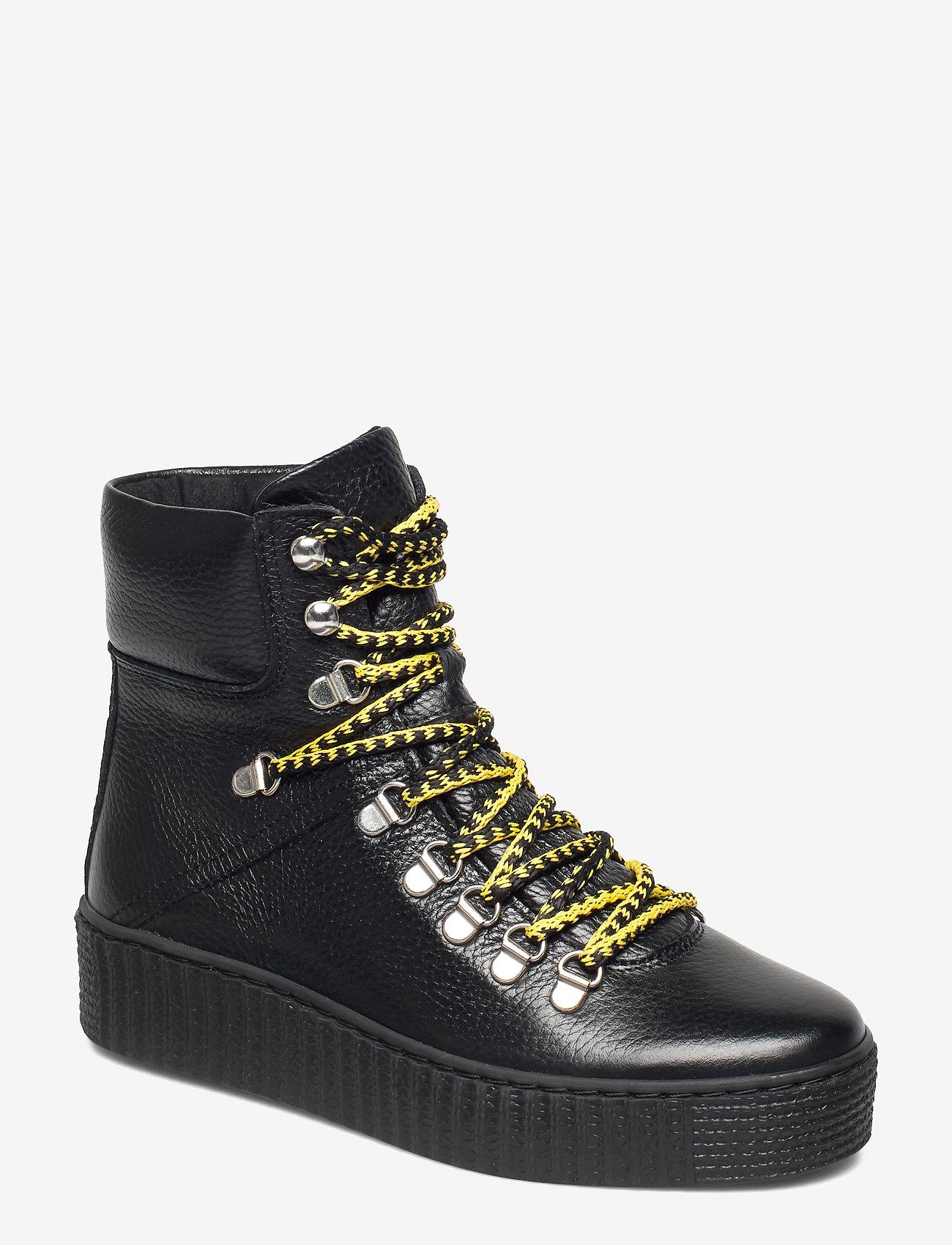Shoe The Bear - AGDA L - flat ankle boots - black / black - 1