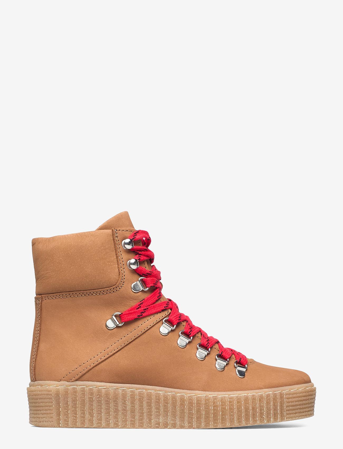 Shoe The Bear - AGDA N - flat ankle boots - tan - 1