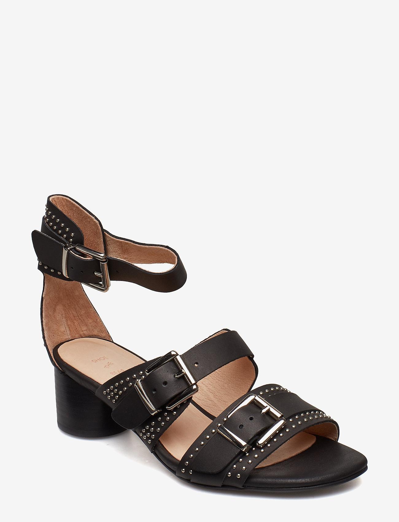 Shoe The Bear - AYA STUDS SANDAL - højhælede sandaler - black - 0