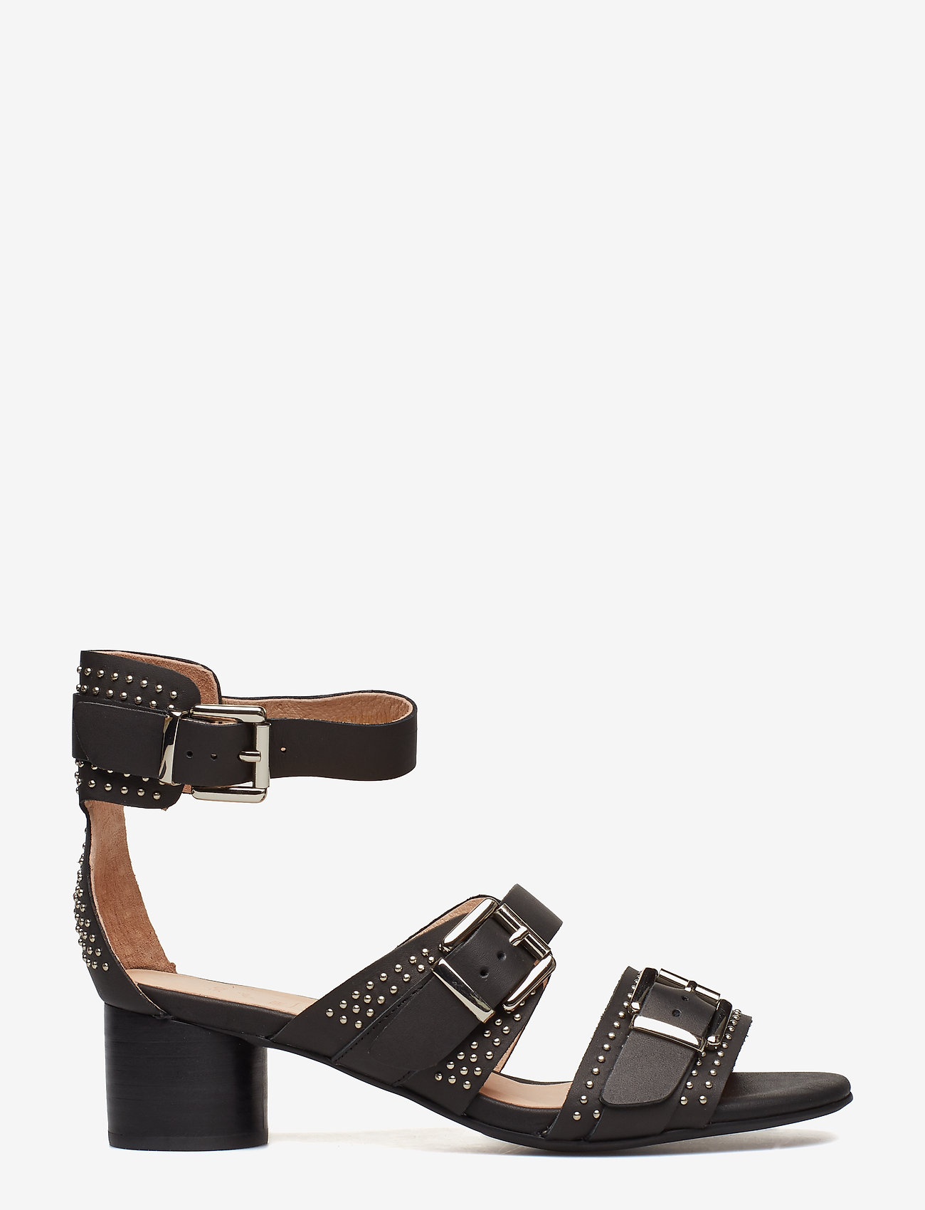 Aya Studs Sandal (Black) - Shoe The Bear
