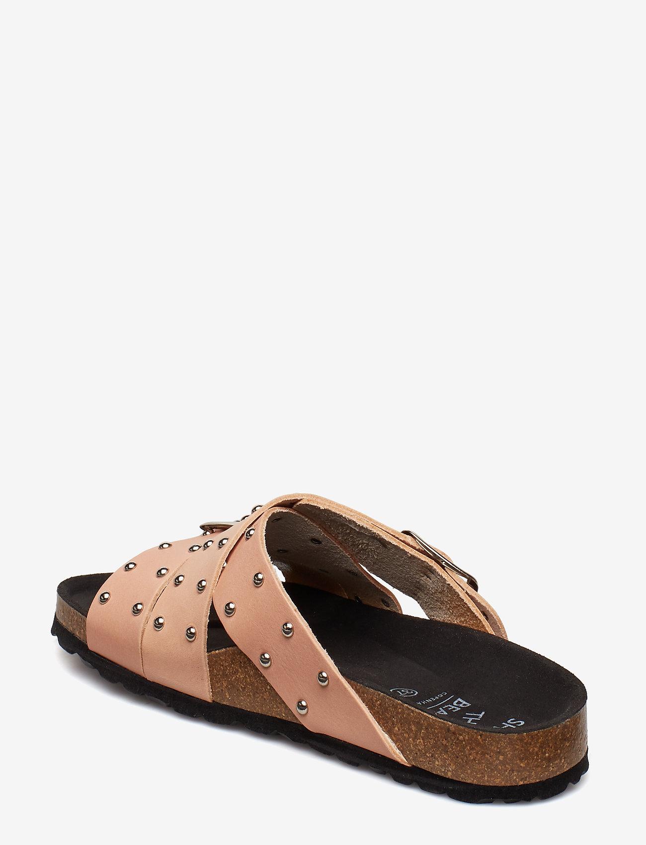 Cara Cross Studs (Tan) - Shoe The Bear