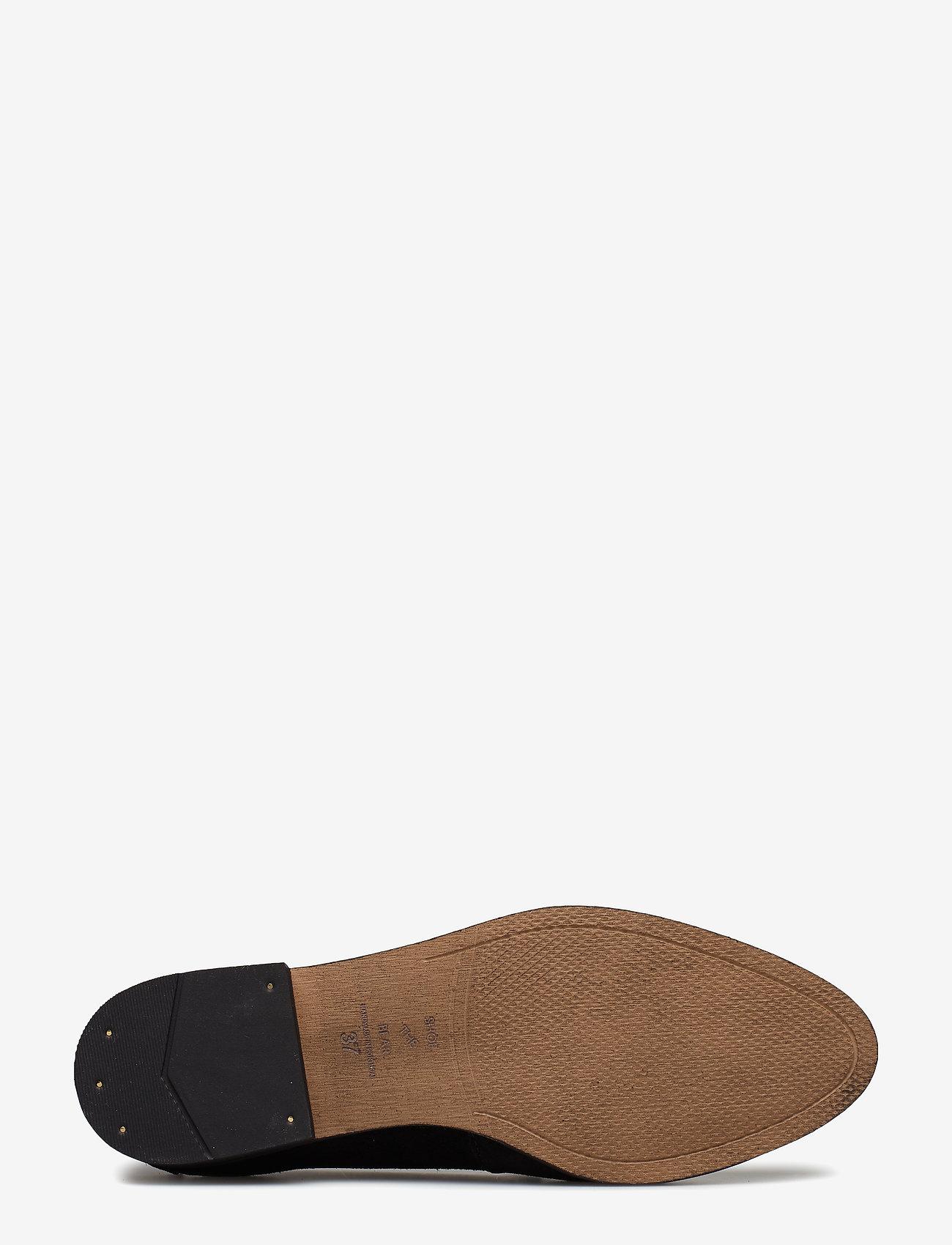 Shoe The Bear JUNO STONE - Flache Schuhe BLACK - Schuhe Billige