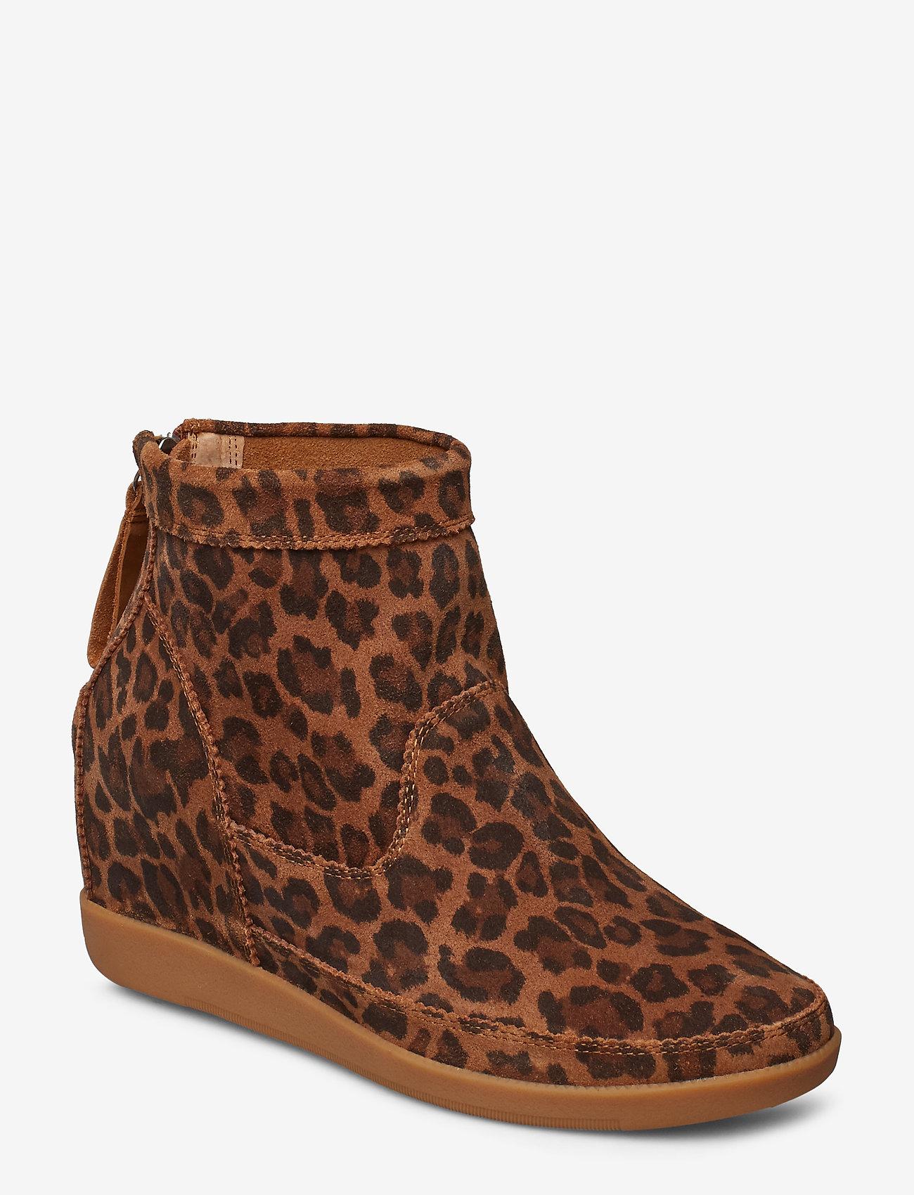 Shoe The Bear - EMMY LEO S - korolliset nilkkurit - brown leo