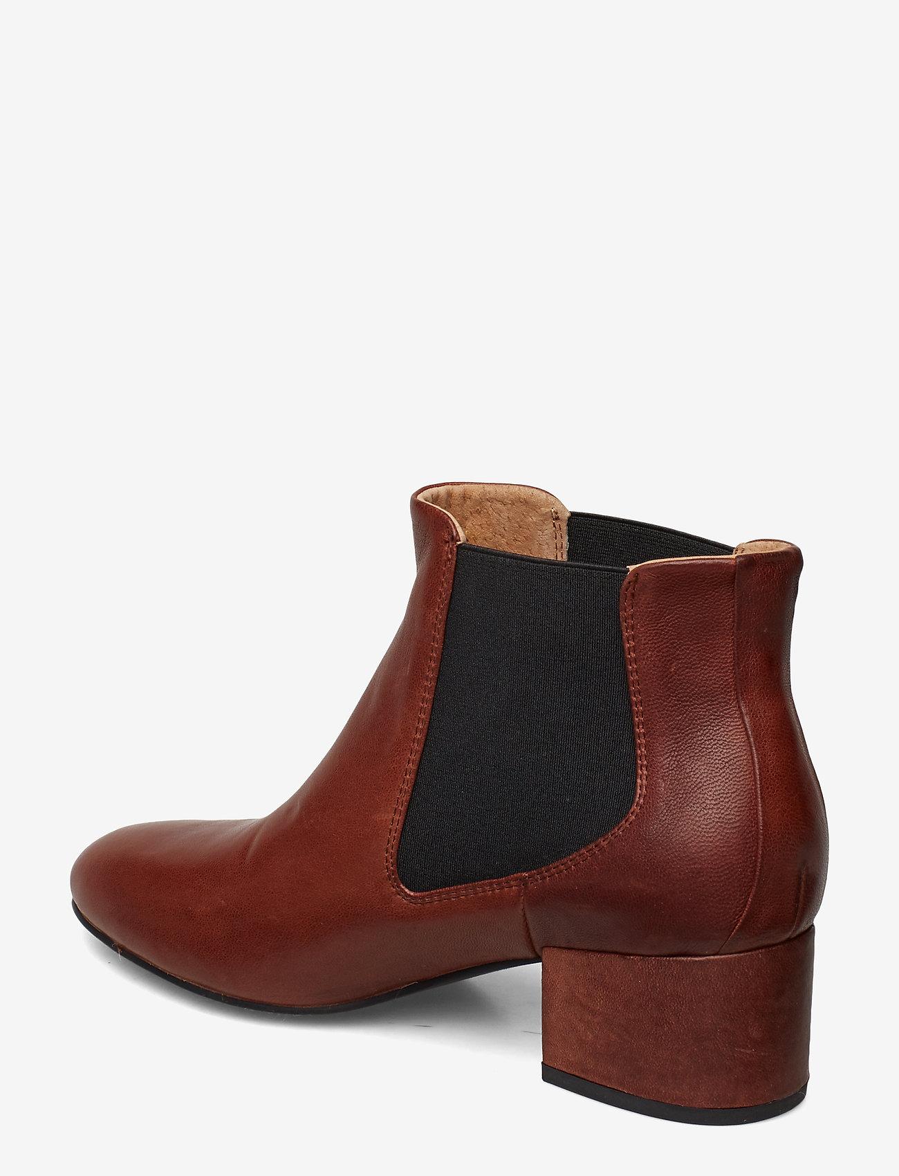 Shoe The Bear SOPHY LOW CHELSEA L - Stiefel BROWN - Schuhe Billige