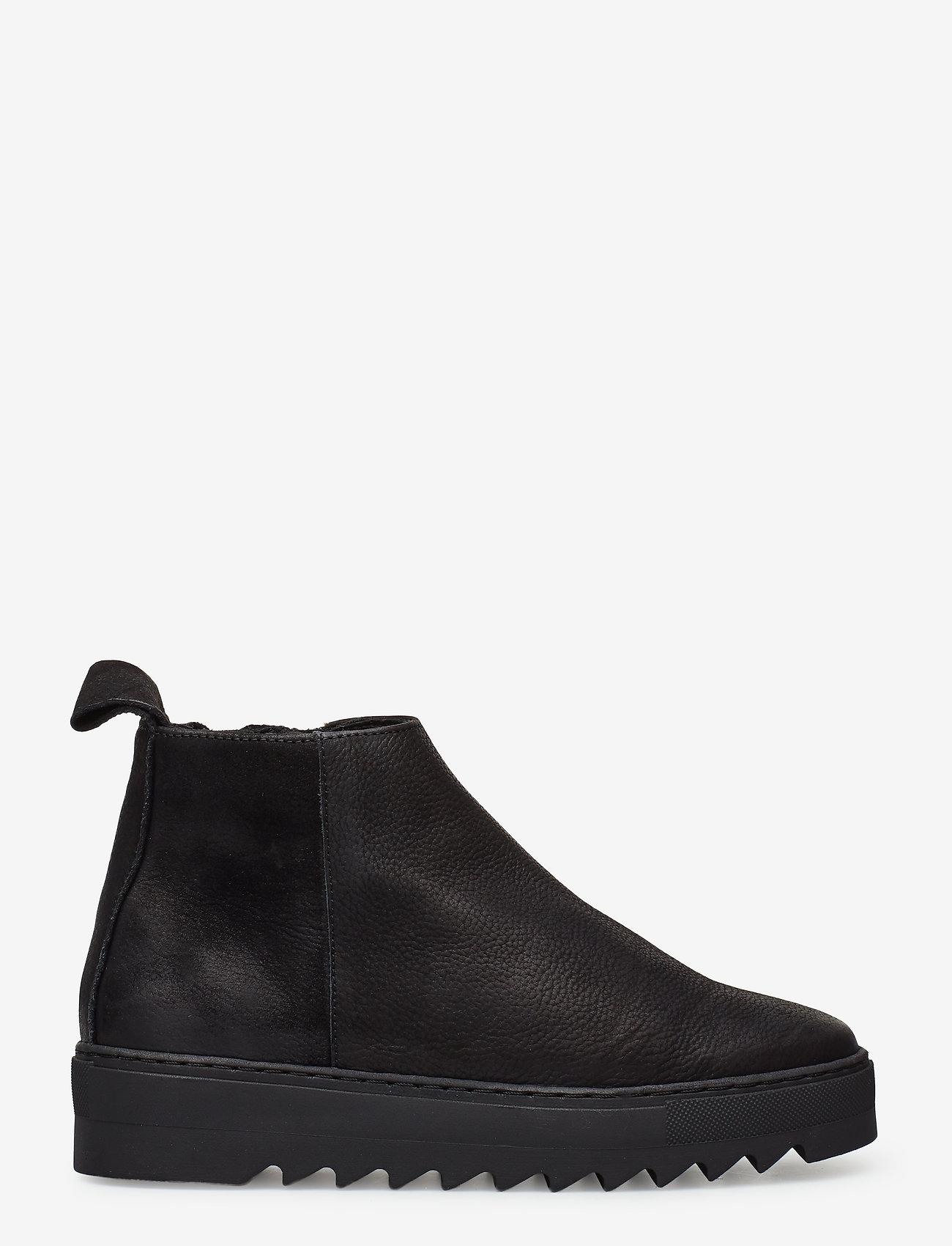 Shoe The Bear - LOUI N - tasapohjaiset nilkkurit - black