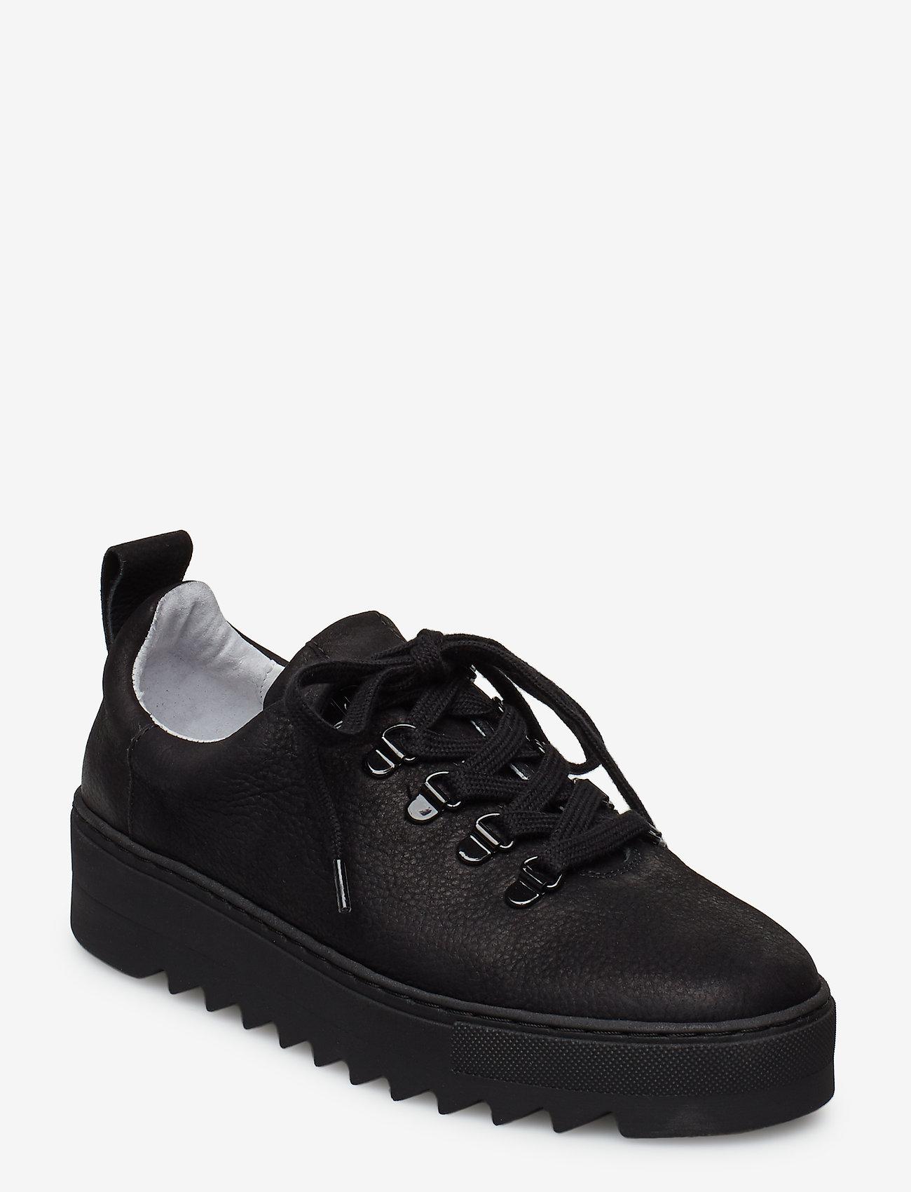Shoe The Bear - LOUI SNEAKER N - matalavartiset tennarit - black