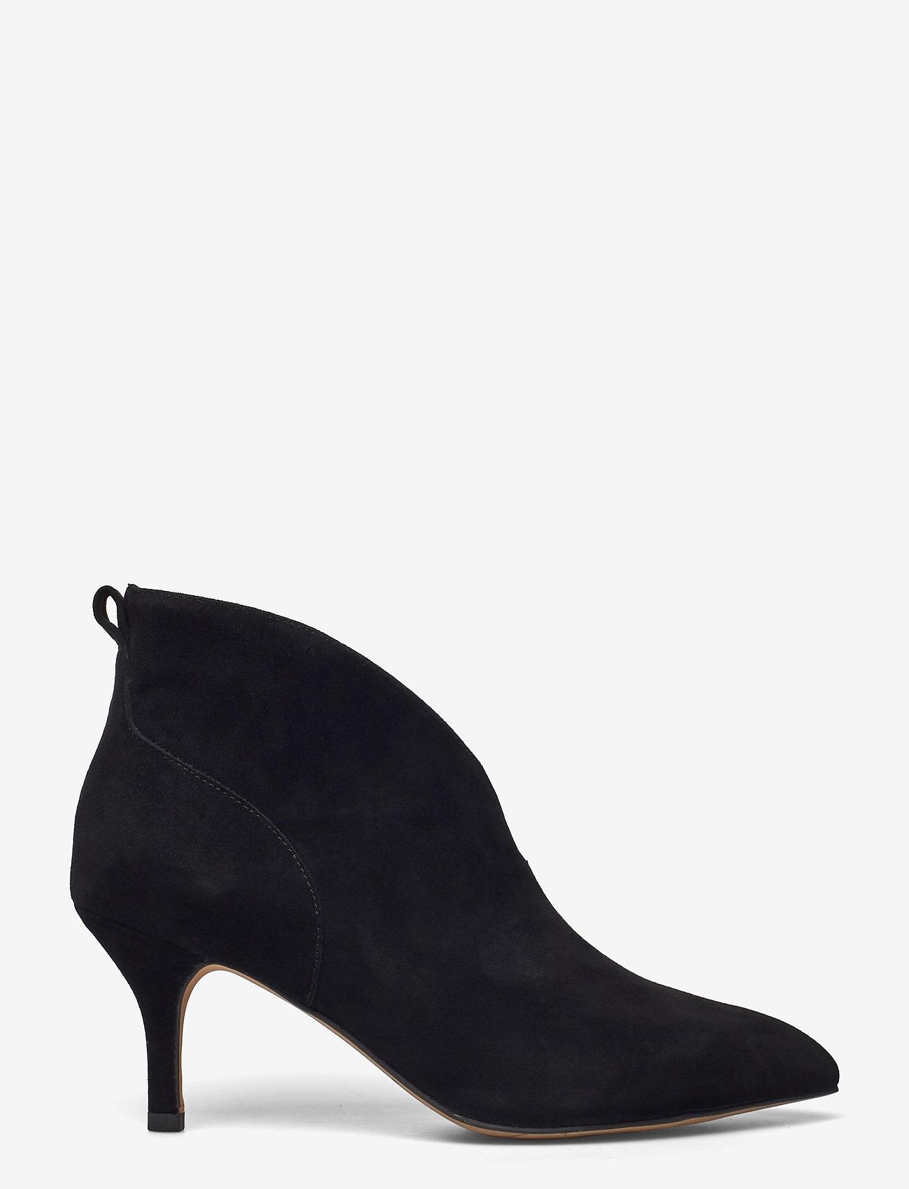 Shoe The Bear - STB-VALENTINE LOW CUT S - stiefeletten mit absatz - black - 0