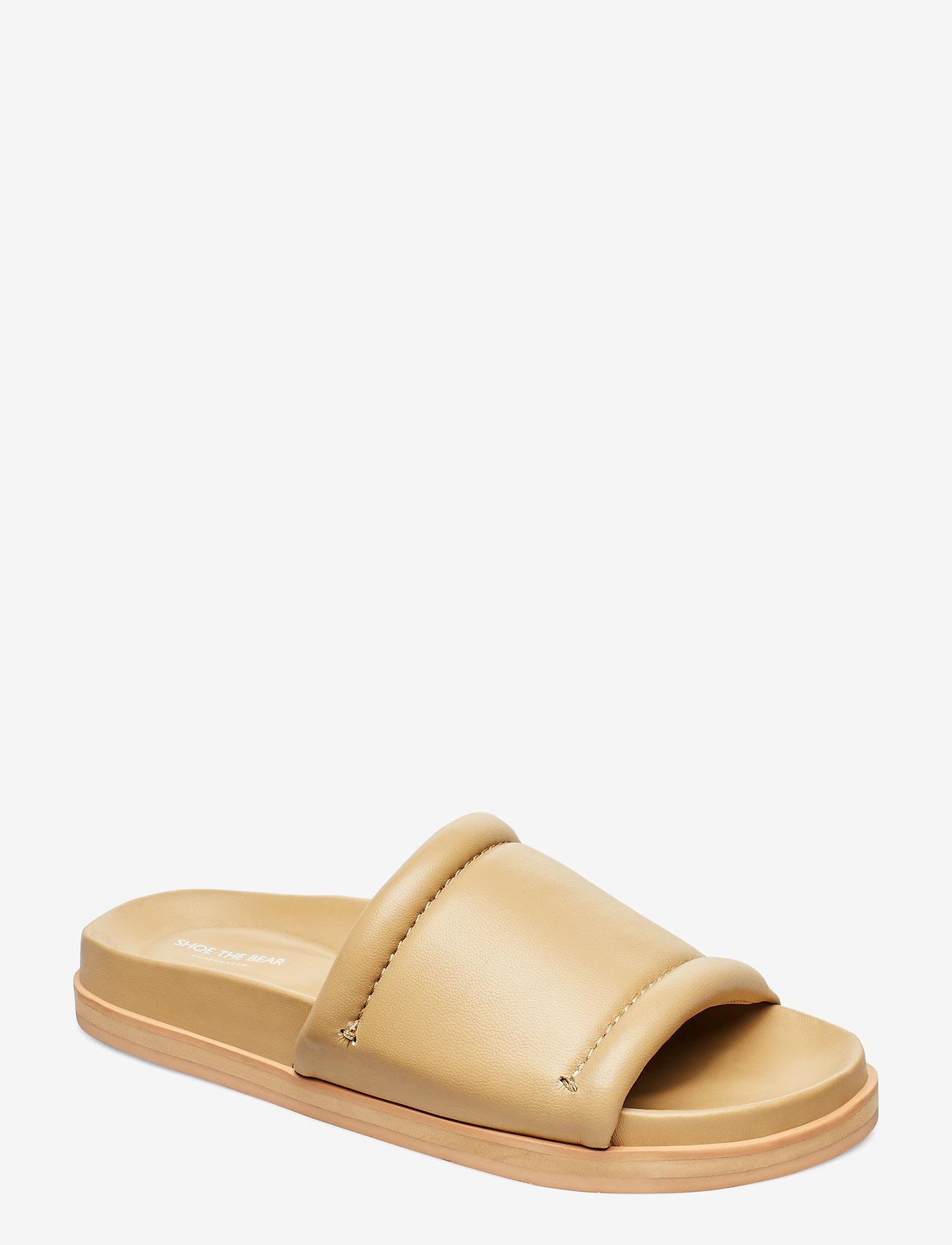 Shoe The Bear - STB-FAMARA SLIDE L - pool sliders - nude - 0