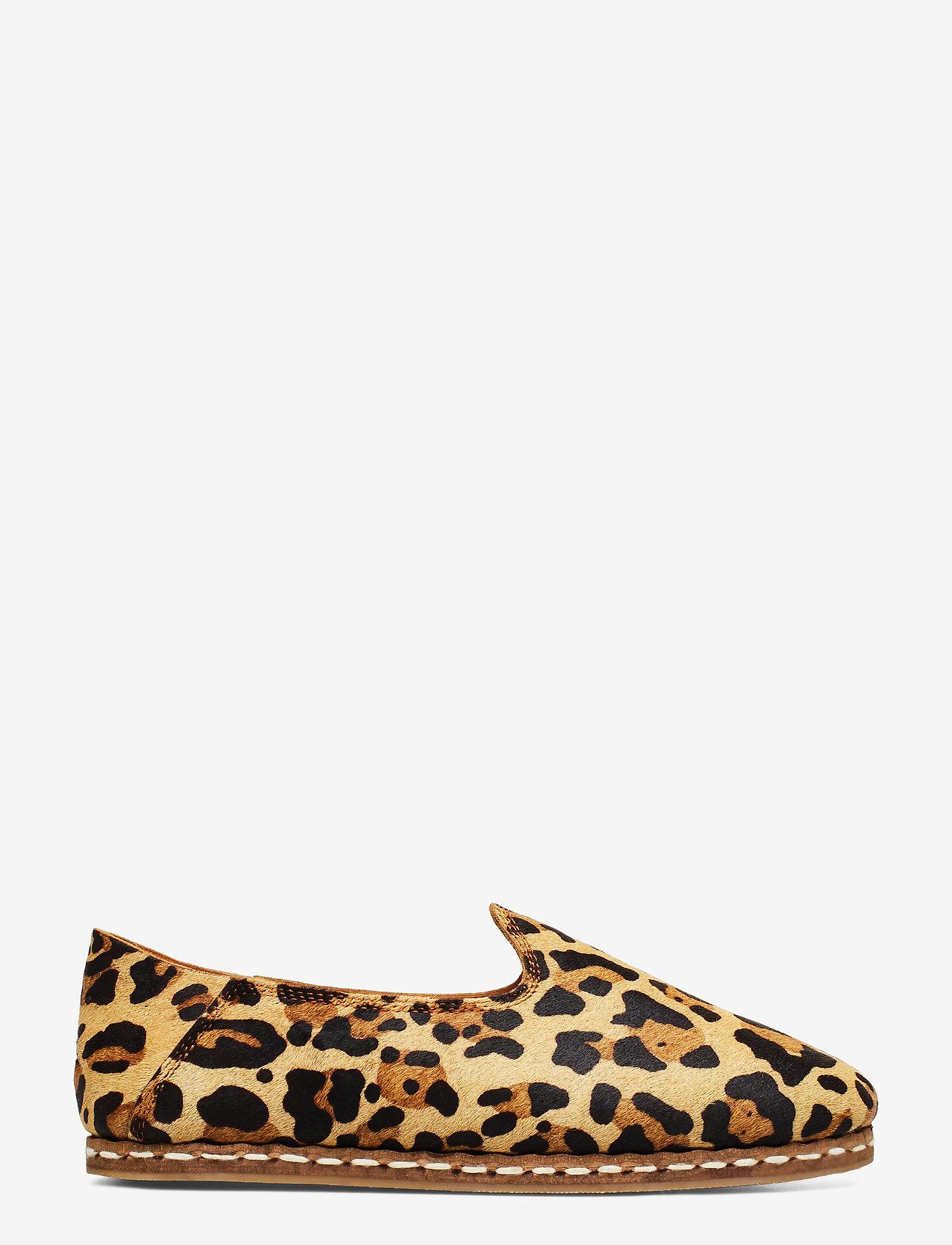 Shoe The Bear - STB-KHALO SLIPPER LEO - loafers - brown leo - 1