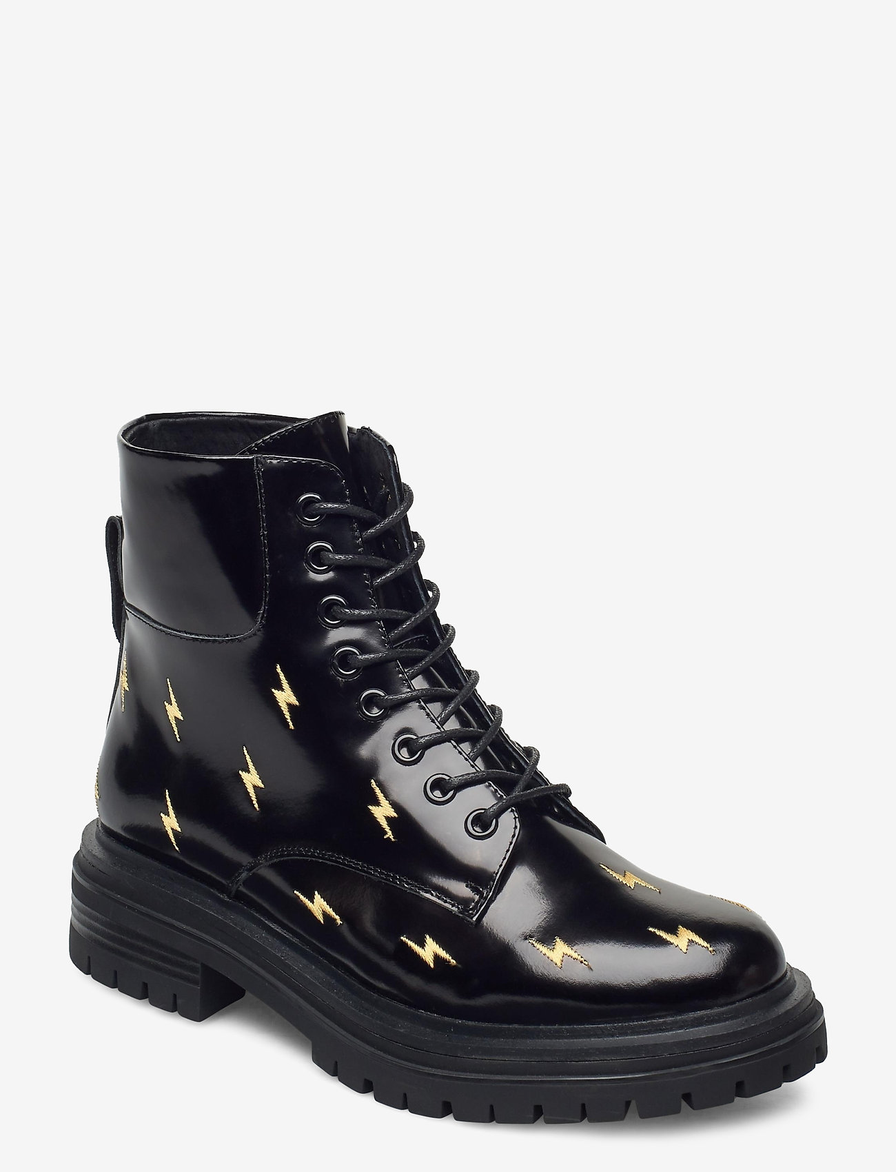 Shoe The Bear - STB-FRANKA BOLT L - platta ankelboots - black - 1