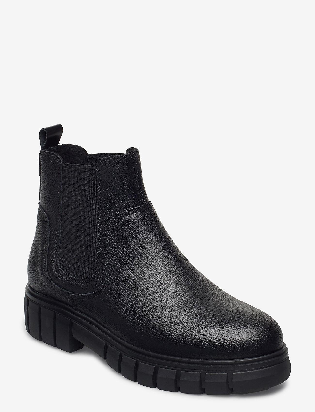 Shoe The Bear - STB-REBEL CHELSEA WARM L - chelsea boots - black - 0