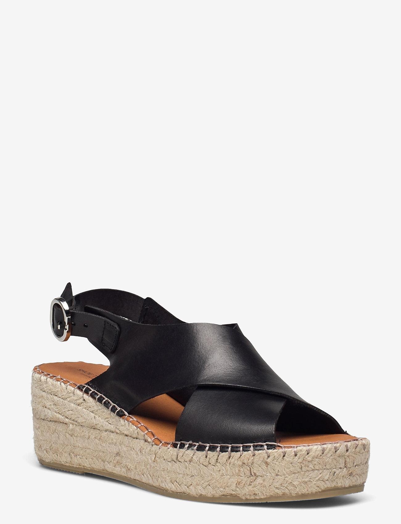 Shoe The Bear - STB-ORCHID CROSS L - espadrilles mit absatz - black - 0