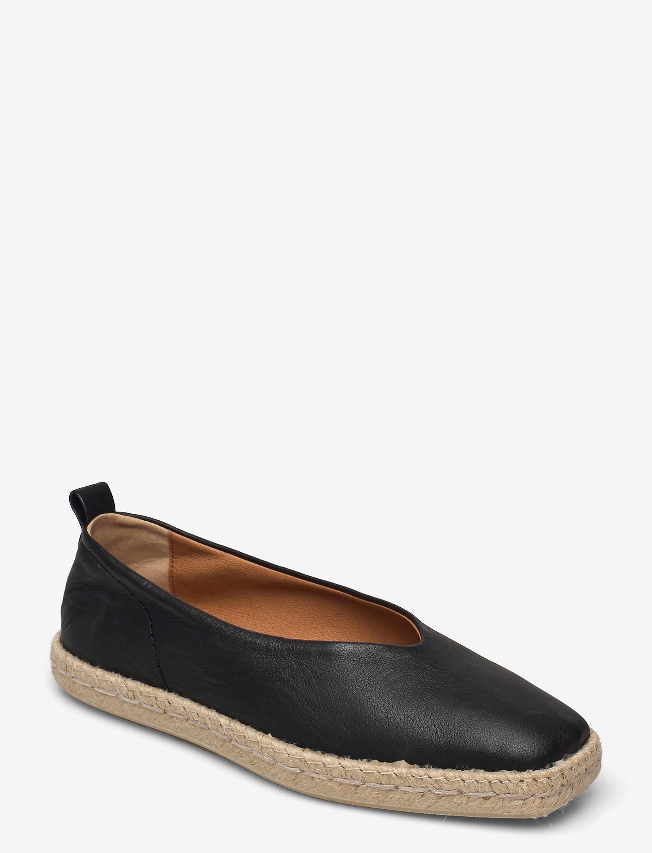 Shoe The Bear - STB-PALM BALLERINA L - platta espadriller - black - 0