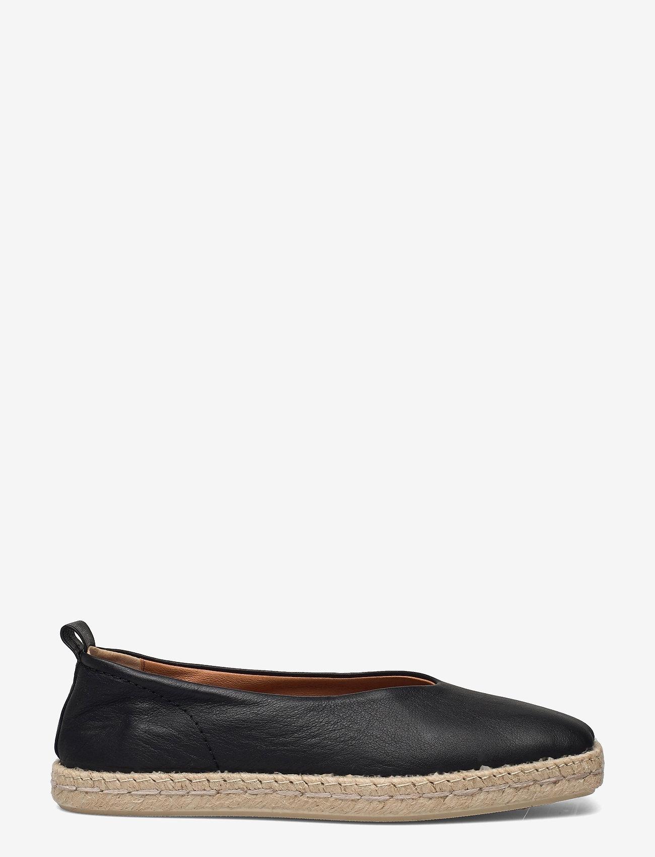 Shoe The Bear - STB-PALM BALLERINA L - platta espadriller - black - 1