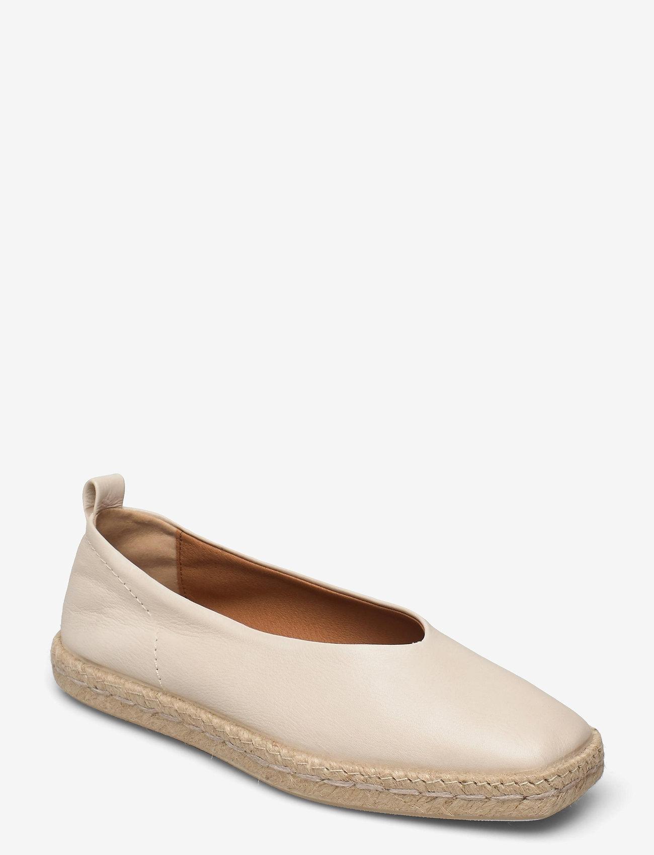 Shoe The Bear - STB-PALM BALLERINA L - platta espadriller - off white - 1
