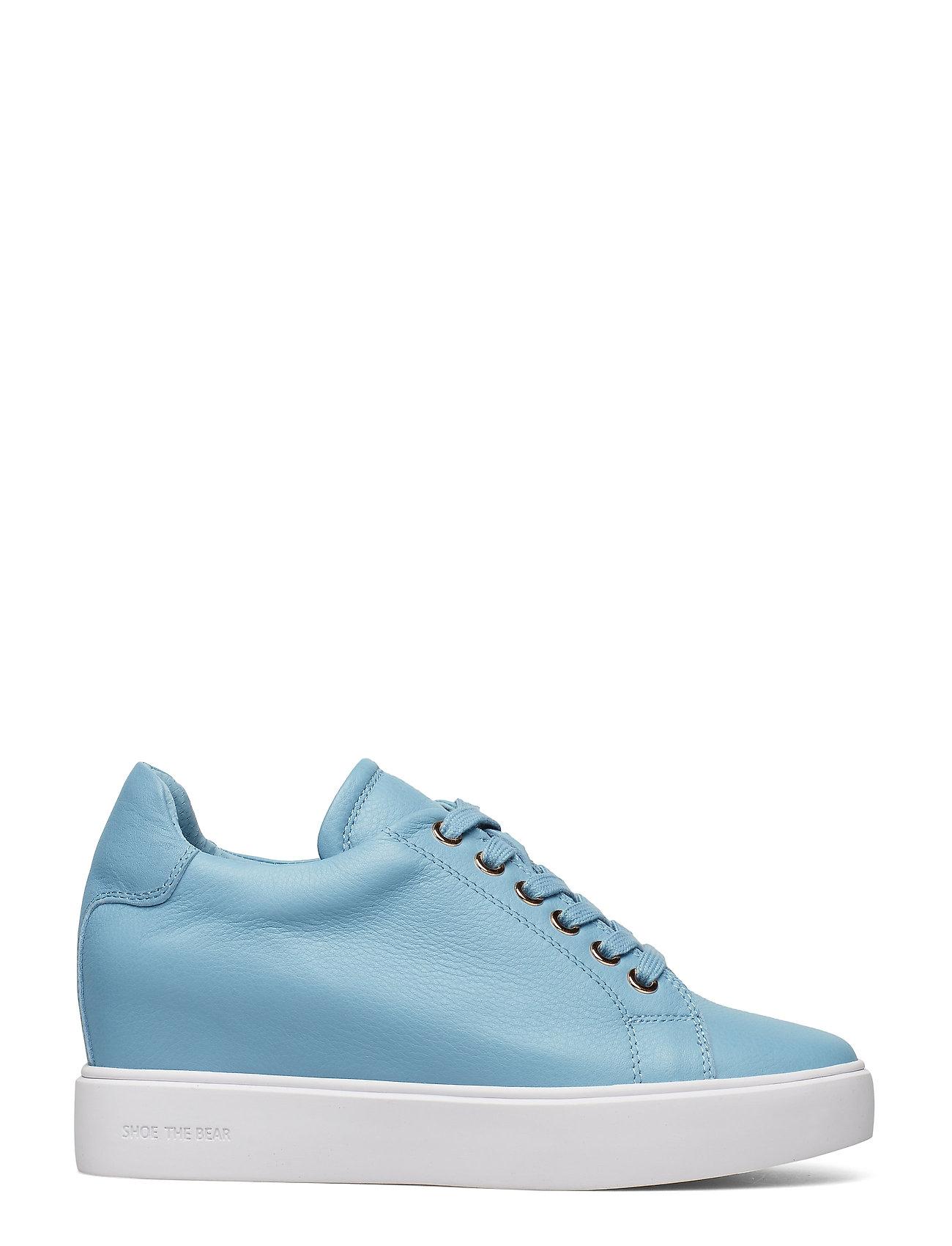 Ava L Sneakers Plateau Blå Shoe The Bear