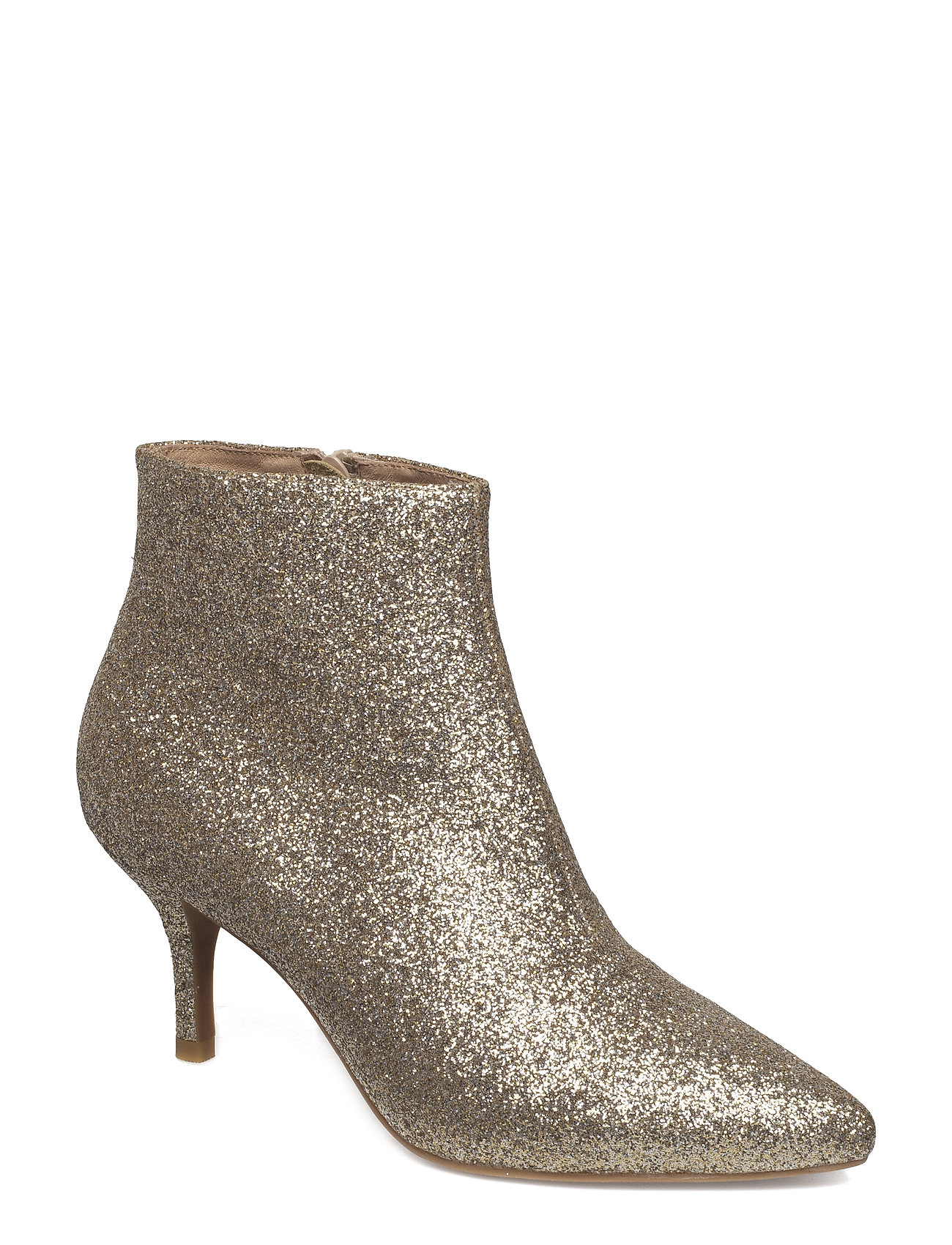 Image of Abby Shoes Boots Ankle Boots Ankle Boot - Heel Guld Shoe The Bear (3452133171)