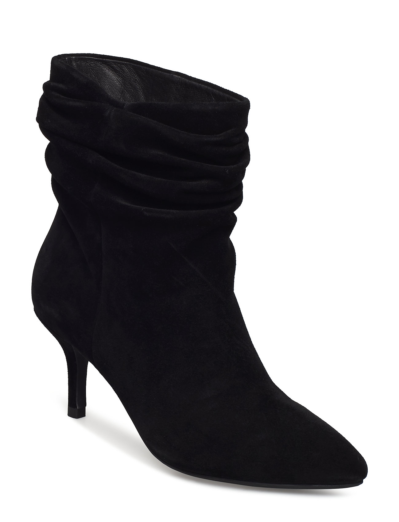 Image of Agnete Slouchy Shoes Boots Ankle Boots Ankle Boot - Heel Sort Shoe The Bear (3406190551)