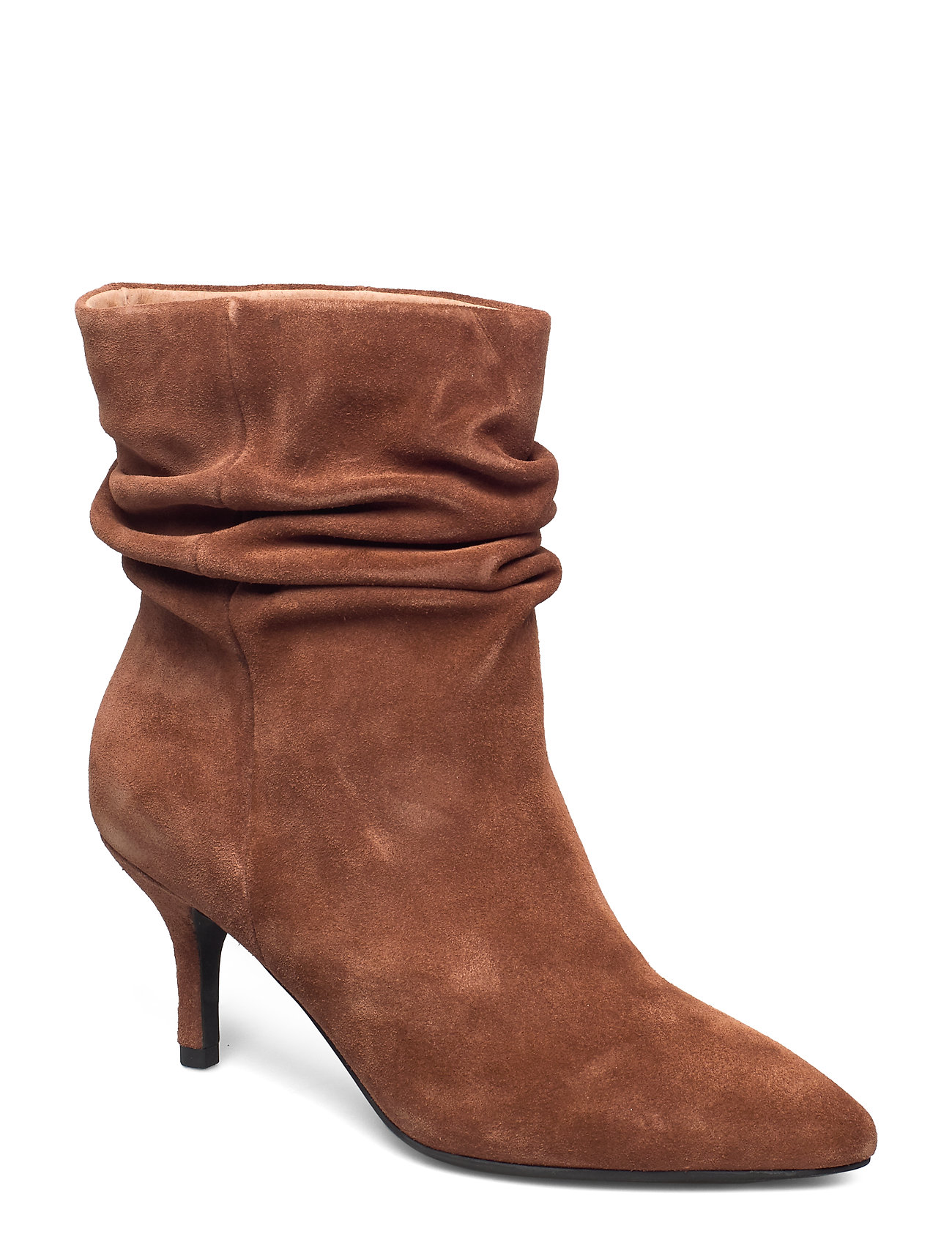 Image of Agnete Slouchy Shoes Boots Ankle Boots Ankle Boot - Heel Brun Shoe The Bear (3406190557)