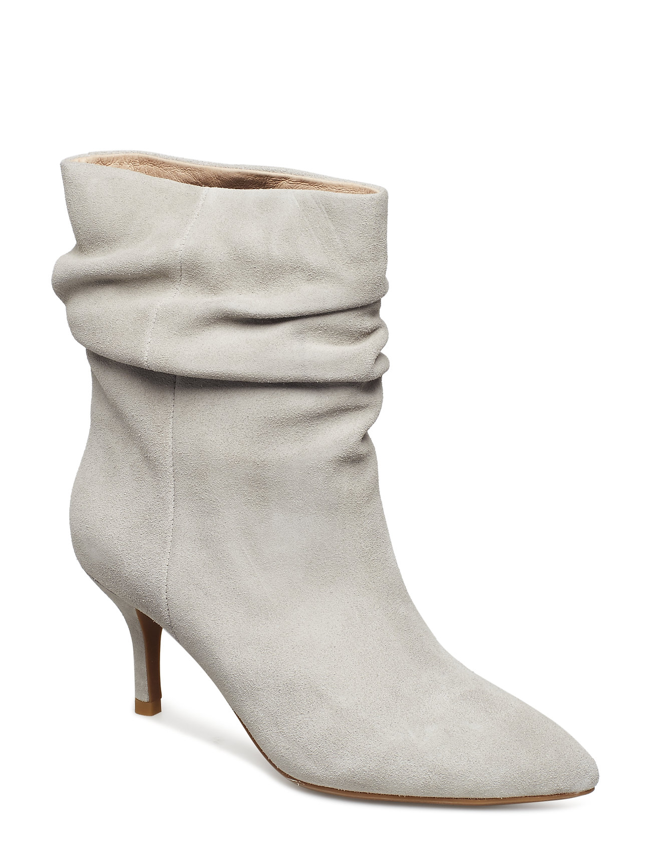 Image of Agnete Slouchy Shoes Boots Ankle Boots Ankle Boot - Heel Beige Shoe The Bear (3452100411)