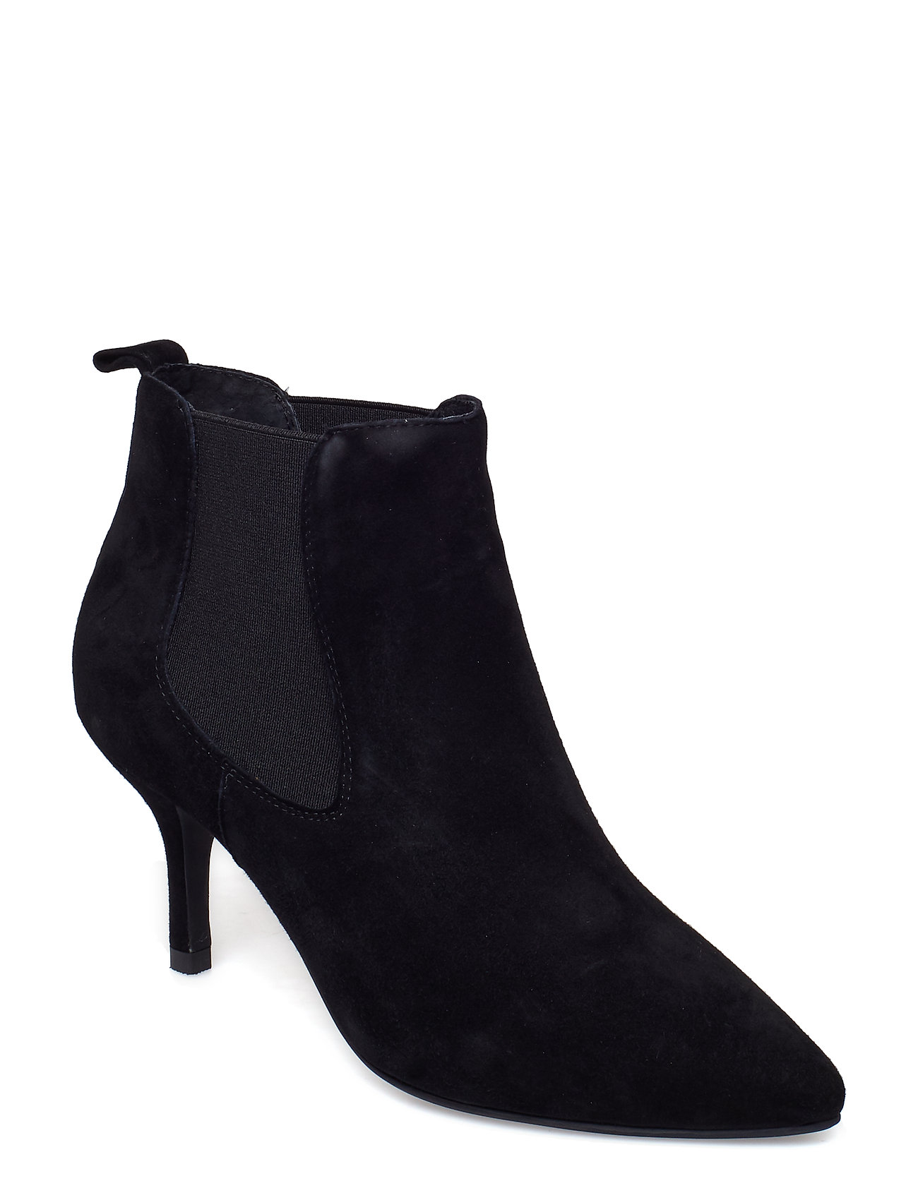 Image of Agnete Chelsea S Shoes Boots Ankle Boots Ankle Boot - Heel Sort Shoe The Bear (3406154425)