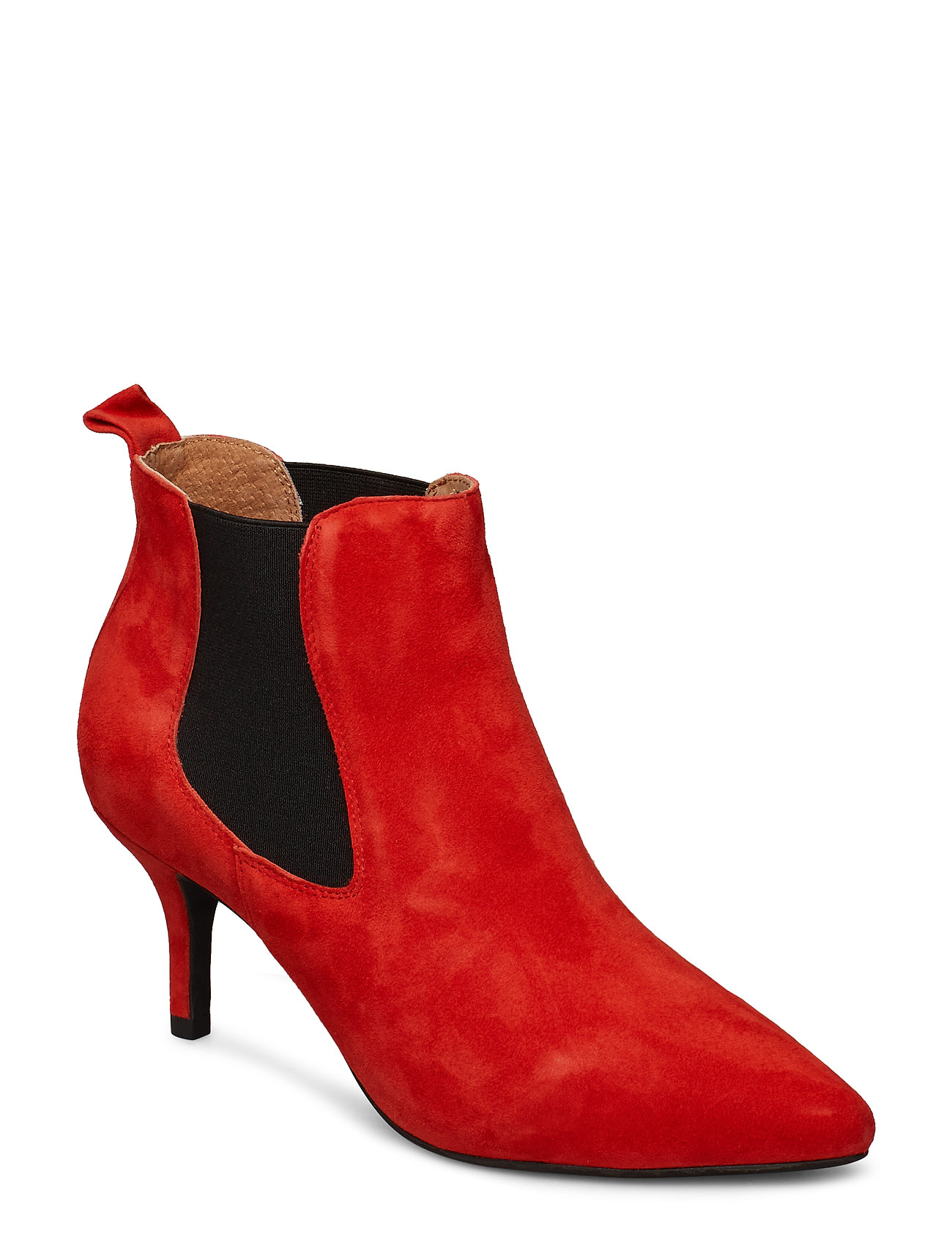Image of Agnete Chelsea S Shoes Boots Ankle Boots Ankle Boot - Heel Rød Shoe The Bear (3406197715)