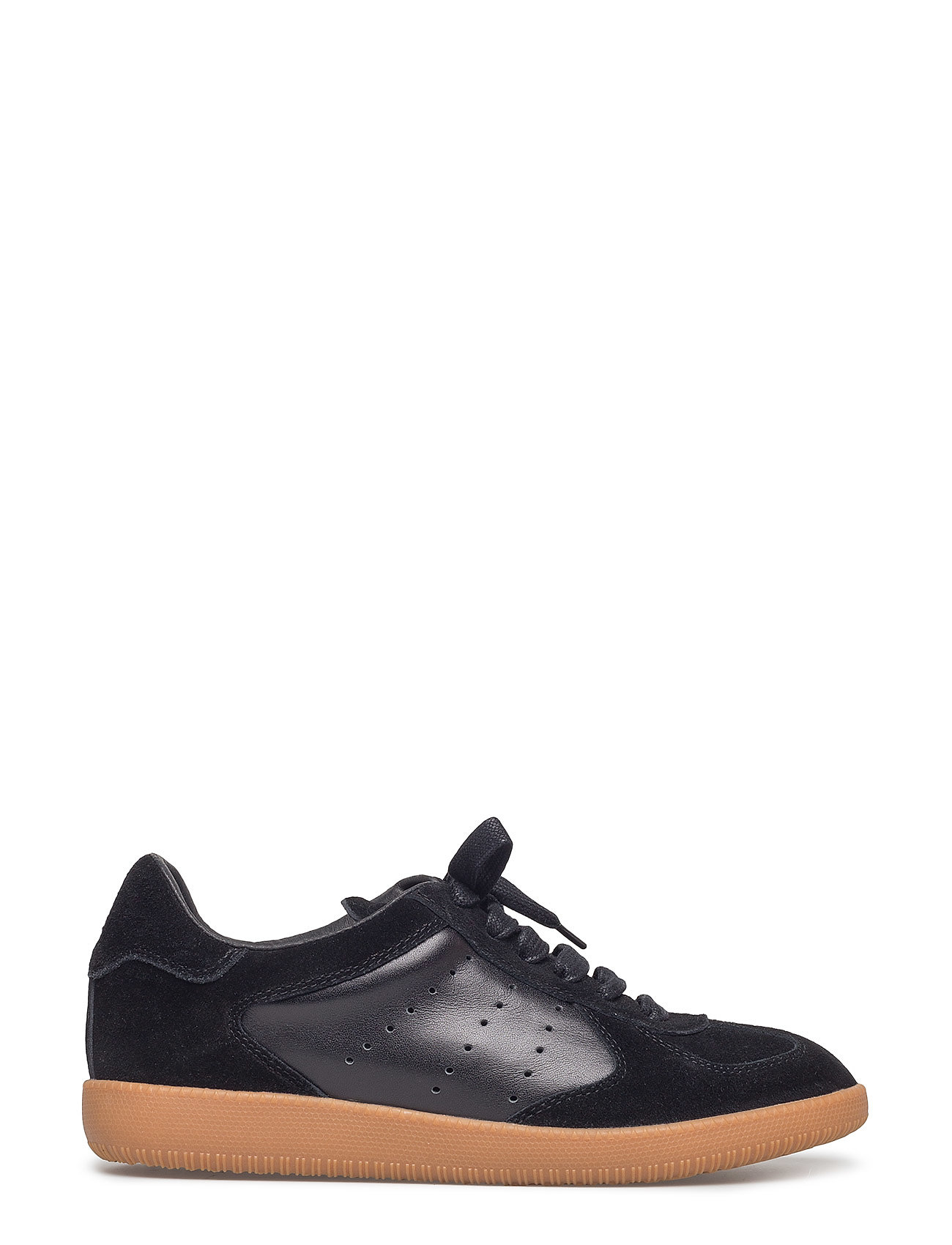 Image of Li Lace Up Low-top Sneakers Sort Shoe The Bear (3523267659)
