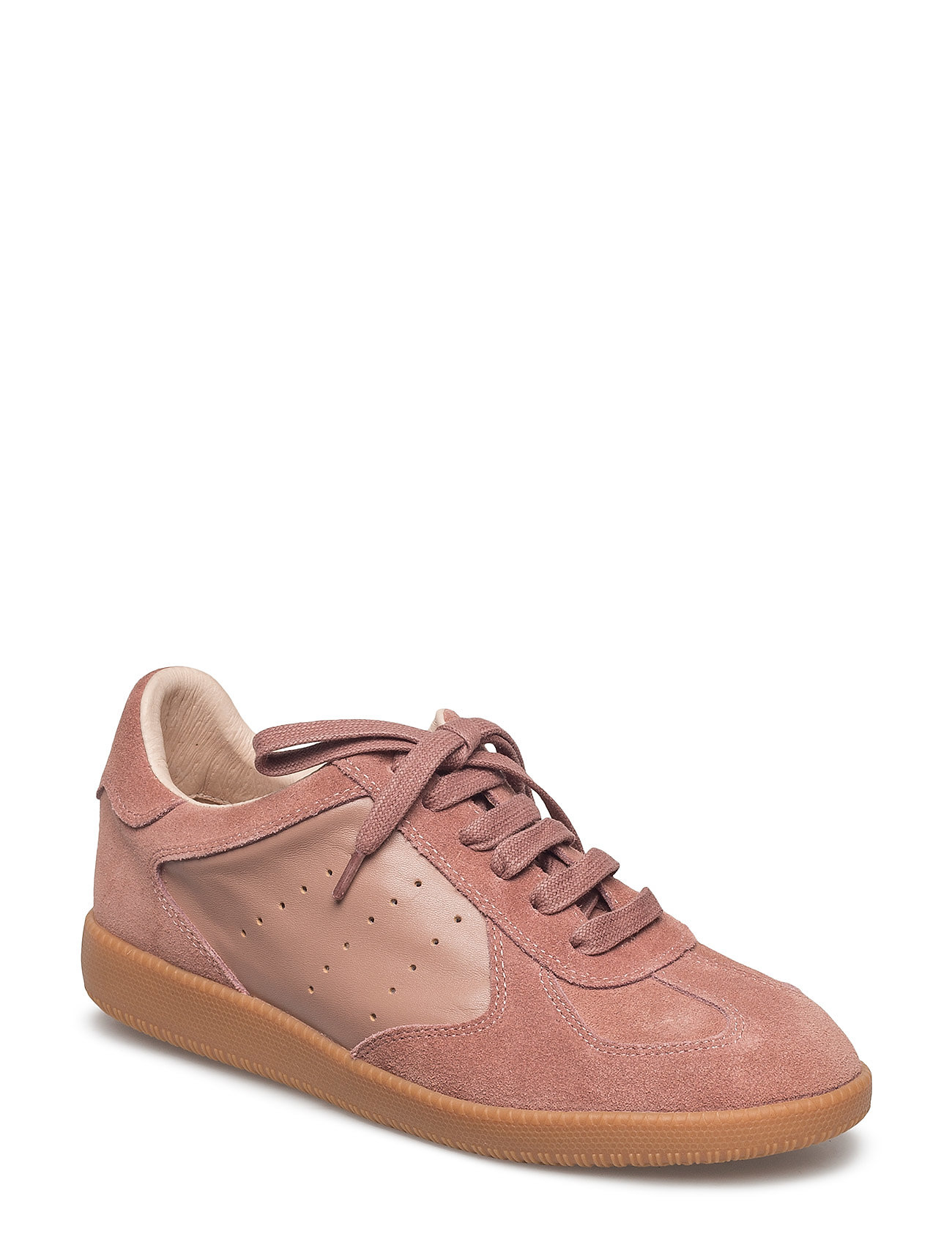 Image of Li Lace Up Low-top Sneakers Lyserød Shoe The Bear (3040300031)