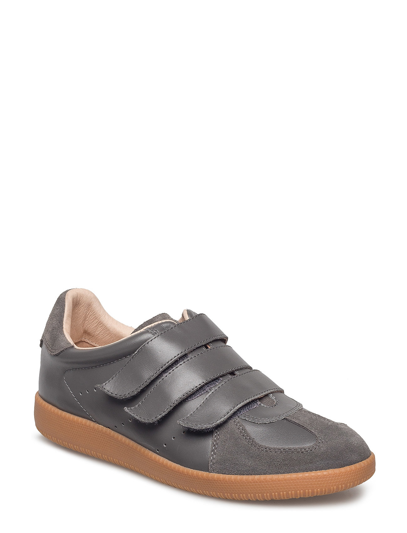 Image of Li Velcro Low-top Sneakers Grå Shoe The Bear (3452122565)