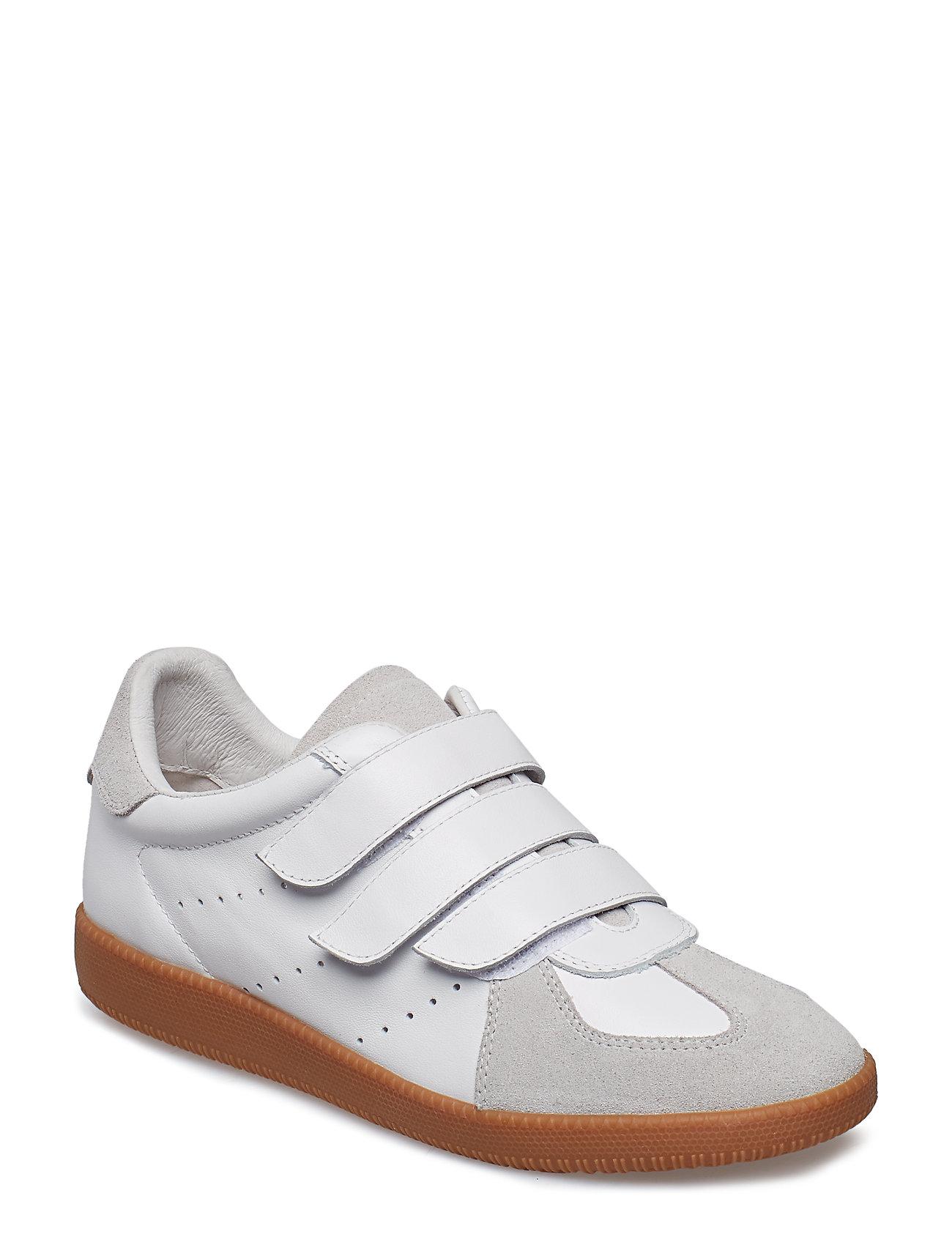 Image of Li Velcro Low-top Sneakers Hvid Shoe The Bear (3091994847)