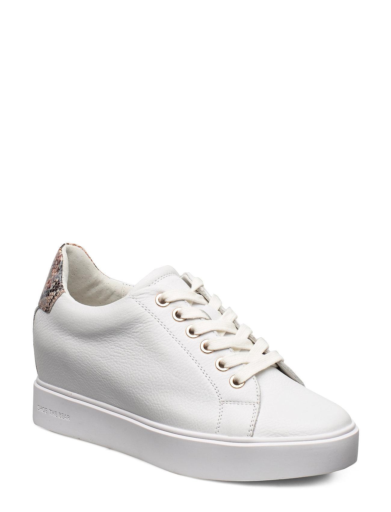 Image of Ava Grain Low-top Sneakers Hvid Shoe The Bear (3334142065)