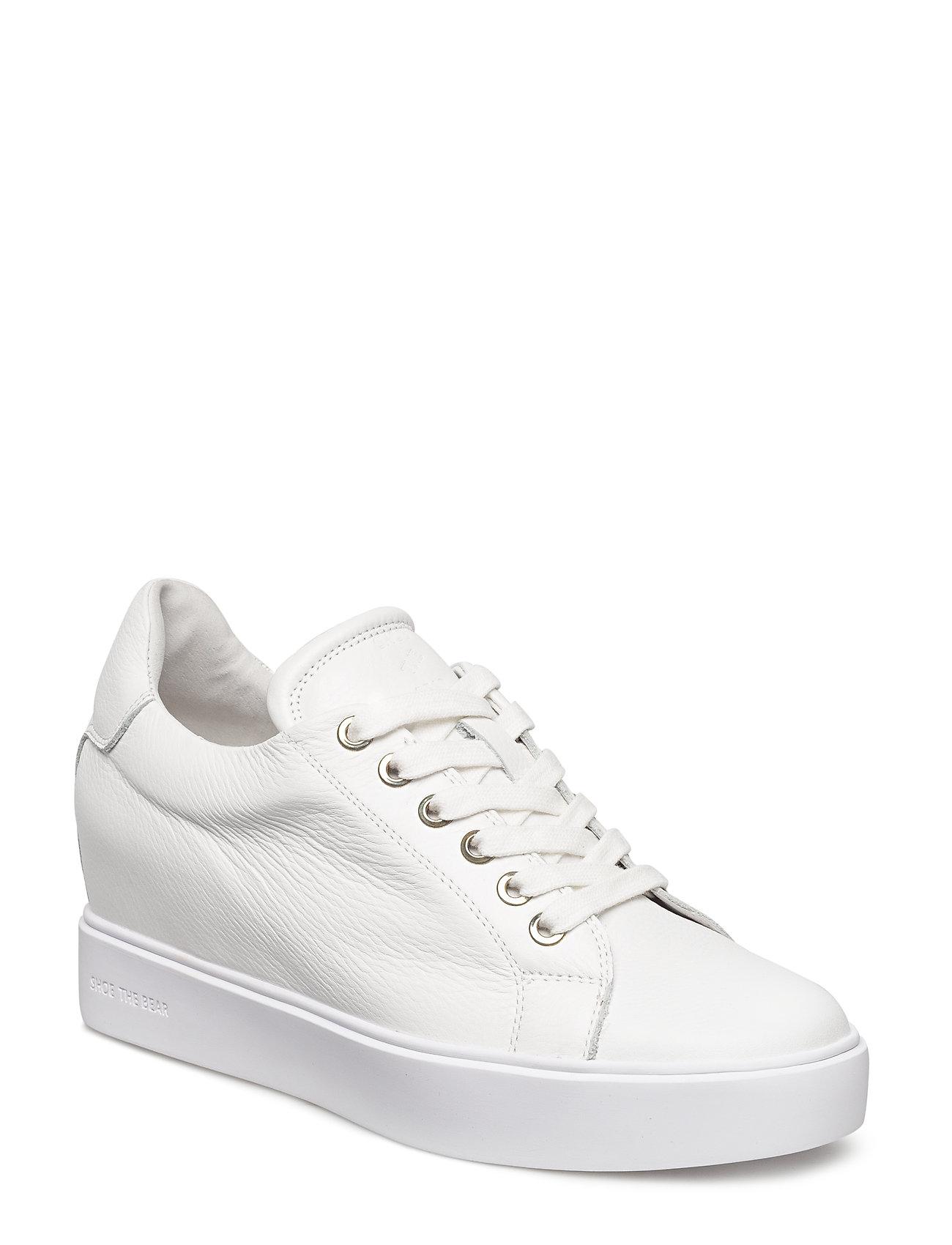 Image of Ava Grain Low-top Sneakers Hvid Shoe The Bear (3329981363)