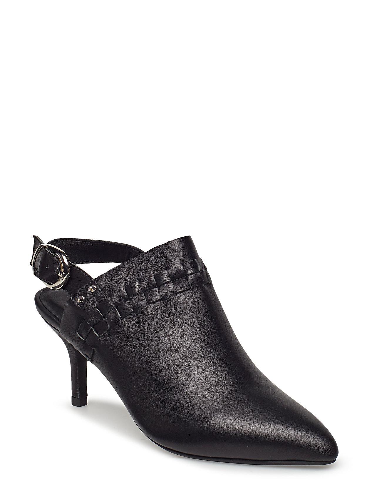 Shoe The Bear AGNETE SLINGBACK L - BLACK