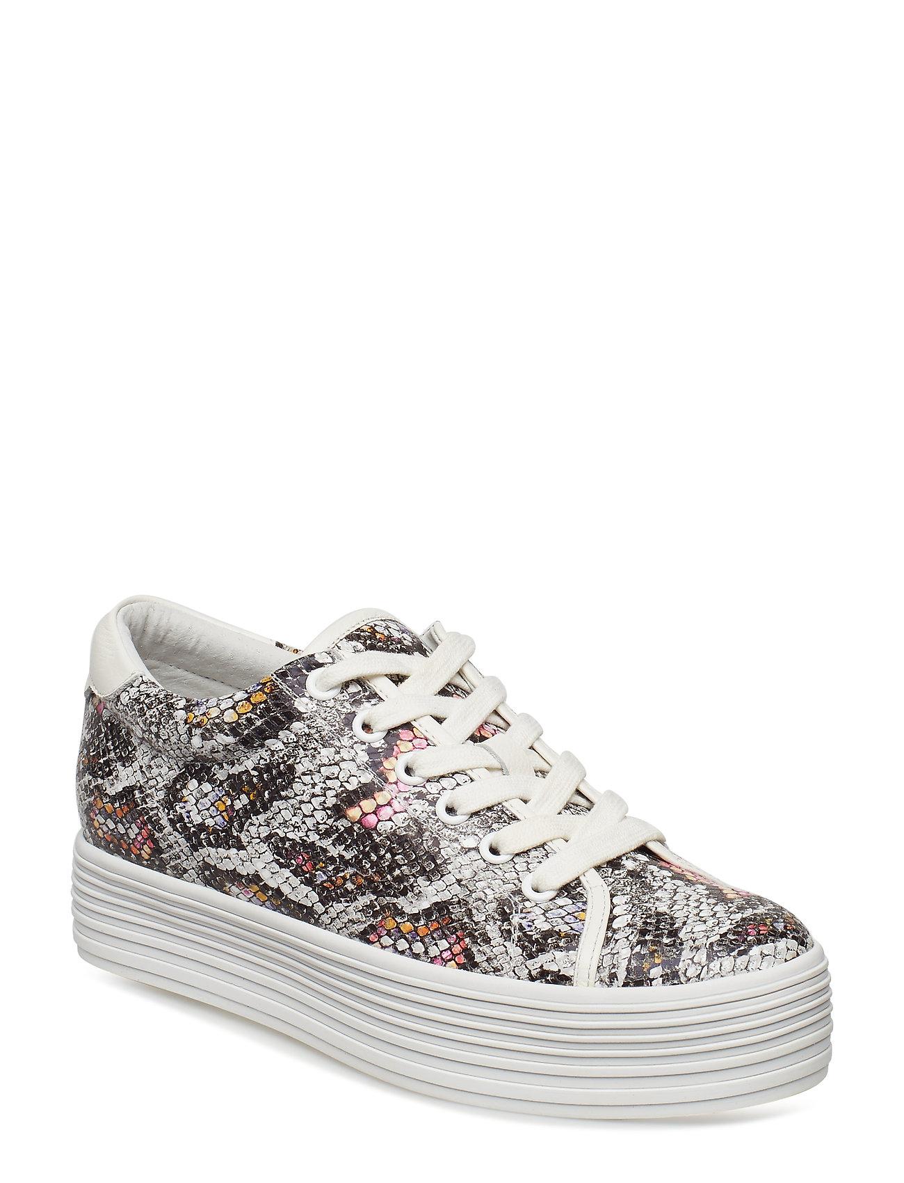 Bella L Sneakers Plateau Hvid Shoe The Bear
