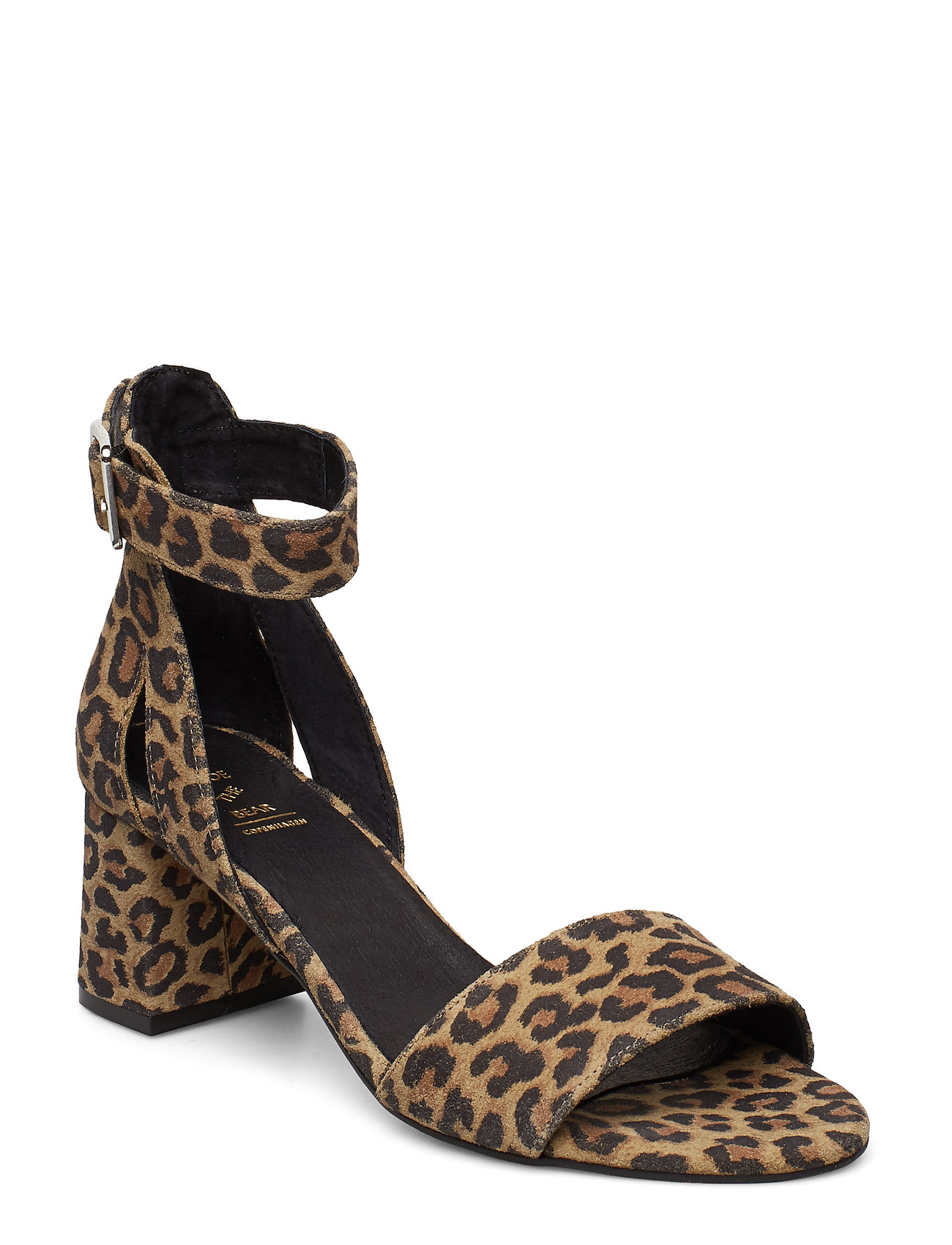 Image of May S Leo Sandal Med Hæl Sort Shoe The Bear (3169769453)