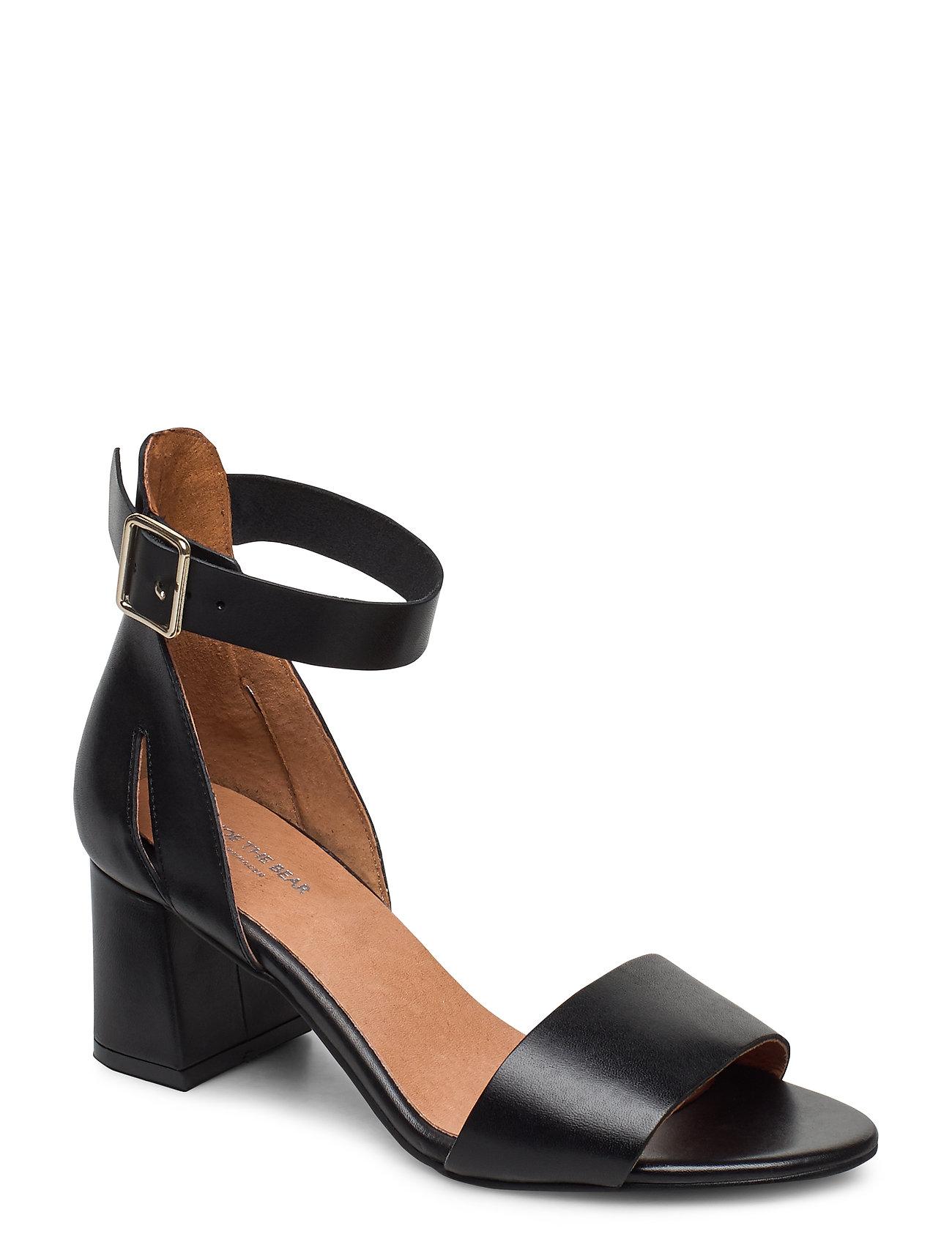 Image of Stb-May L Sandal Med Hæl Sort Shoe The Bear (3370074751)