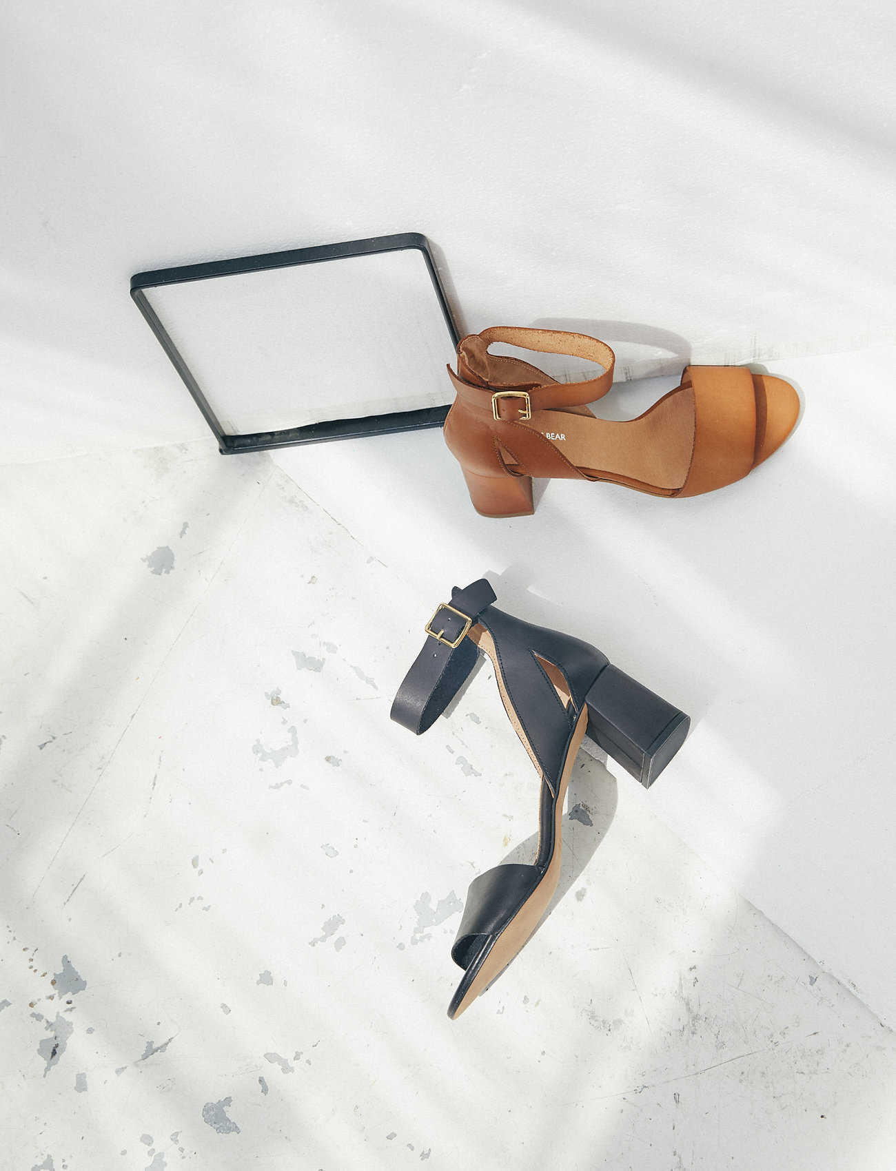 Shoe The Bear - STB-MAY L - høyhælte sandaler - black