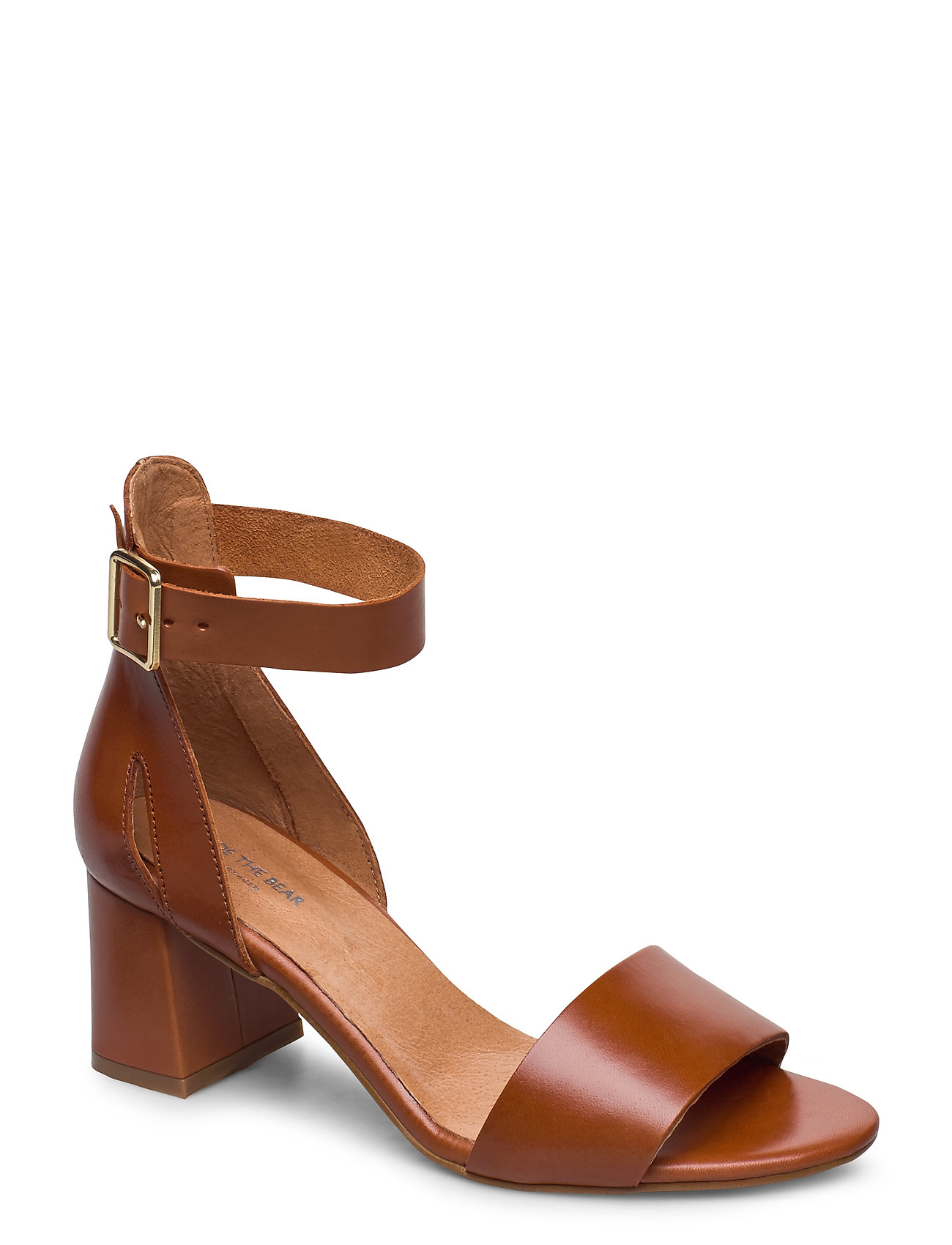 Image of Stb-May L Sandal Med Hæl Brun Shoe The Bear (3370074753)