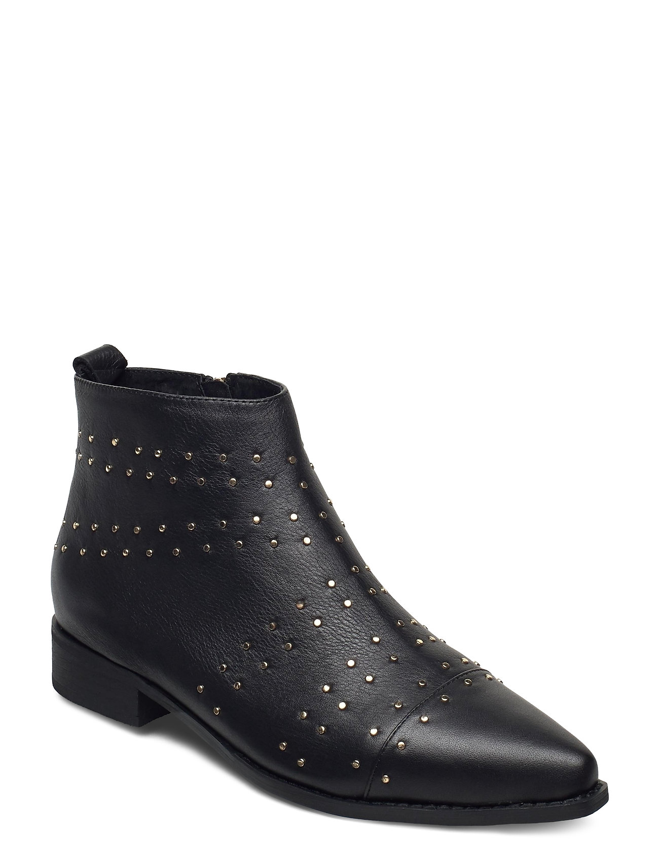 Image of Stb-Miho Zip Studs L Shoes Boots Ankle Boots Ankle Boot - Flat Sort Shoe The Bear (3455508155)