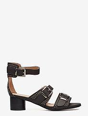 Shoe The Bear - AYA STUDS SANDAL - højhælede sandaler - black - 1