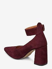 Shoe The Bear - JANE ANKLE S - klassiset piikkikorkokengät - burgundy - 2