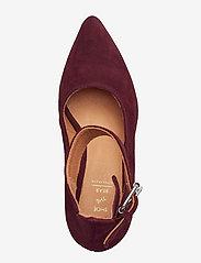 Shoe The Bear - JANE ANKLE S - klassiset piikkikorkokengät - burgundy - 3