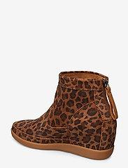 Shoe The Bear - EMMY LEO S - korolliset nilkkurit - brown leo - 2