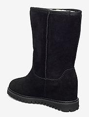 Shoe The Bear - FARA WOOL - long boots - black / black - 2
